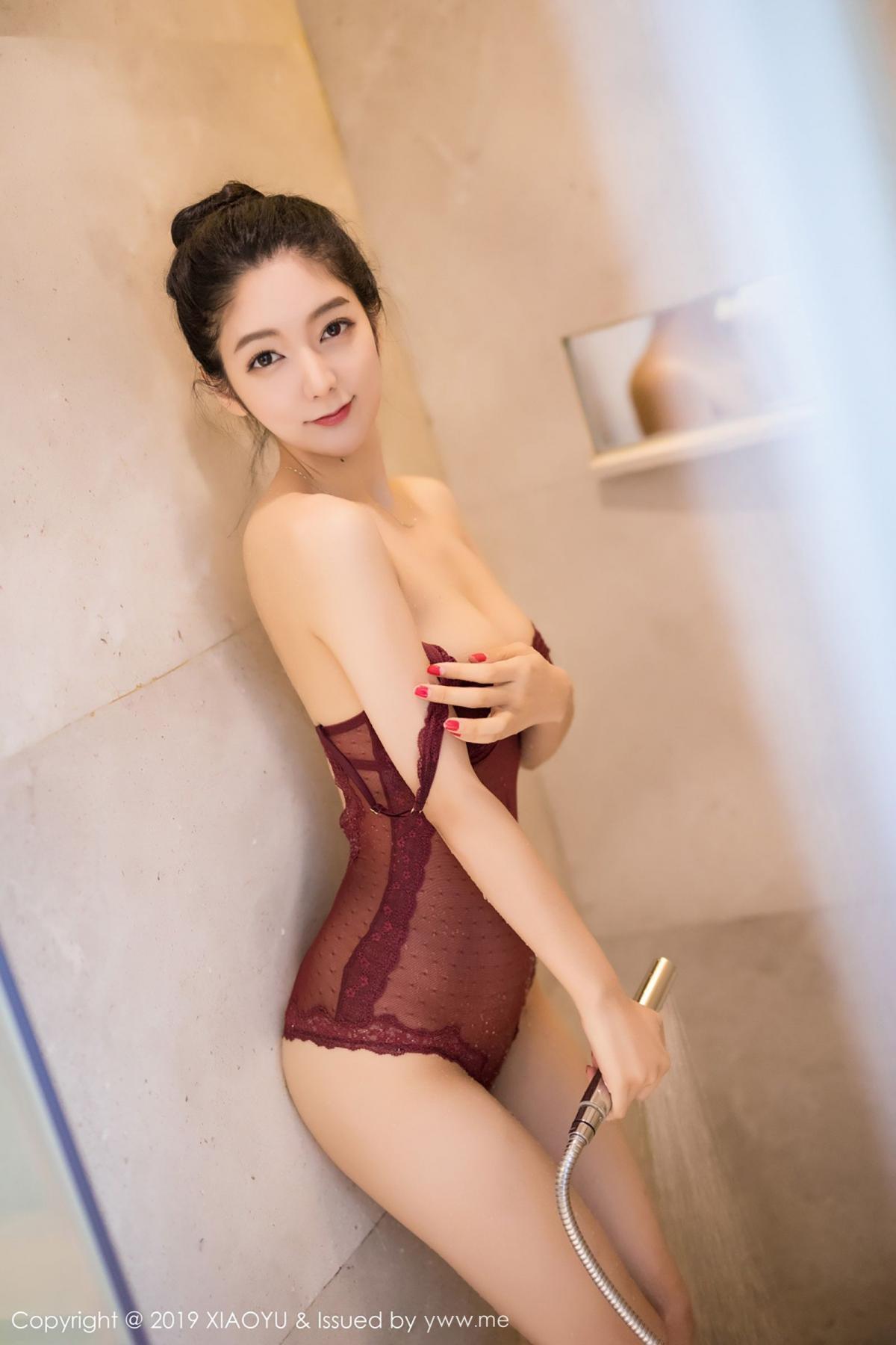 [XiaoYu] Vol.017 Di Yi 28P, Bathroom, Di Yi, Underwear, Wet, XiaoYu