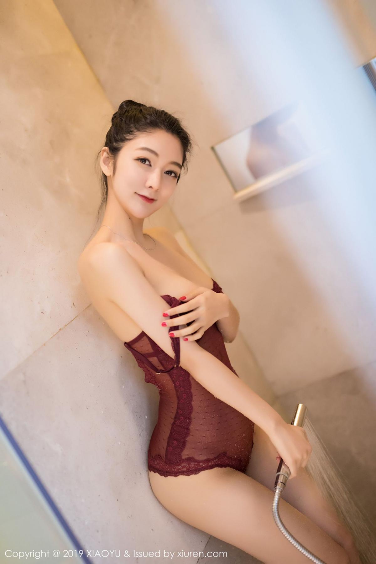 [XiaoYu] Vol.017 Di Yi 29P, Bathroom, Di Yi, Underwear, Wet, XiaoYu