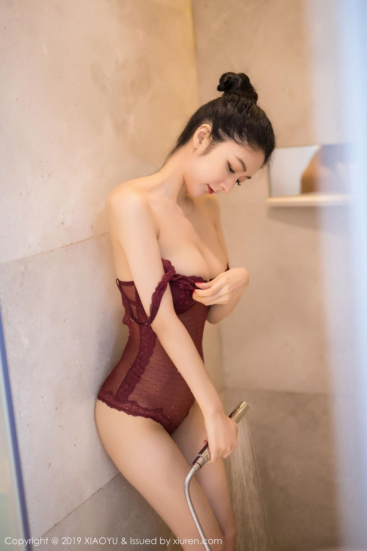 [XiaoYu] Vol.017 Di Yi 30P, Bathroom, Di Yi, Underwear, Wet, XiaoYu
