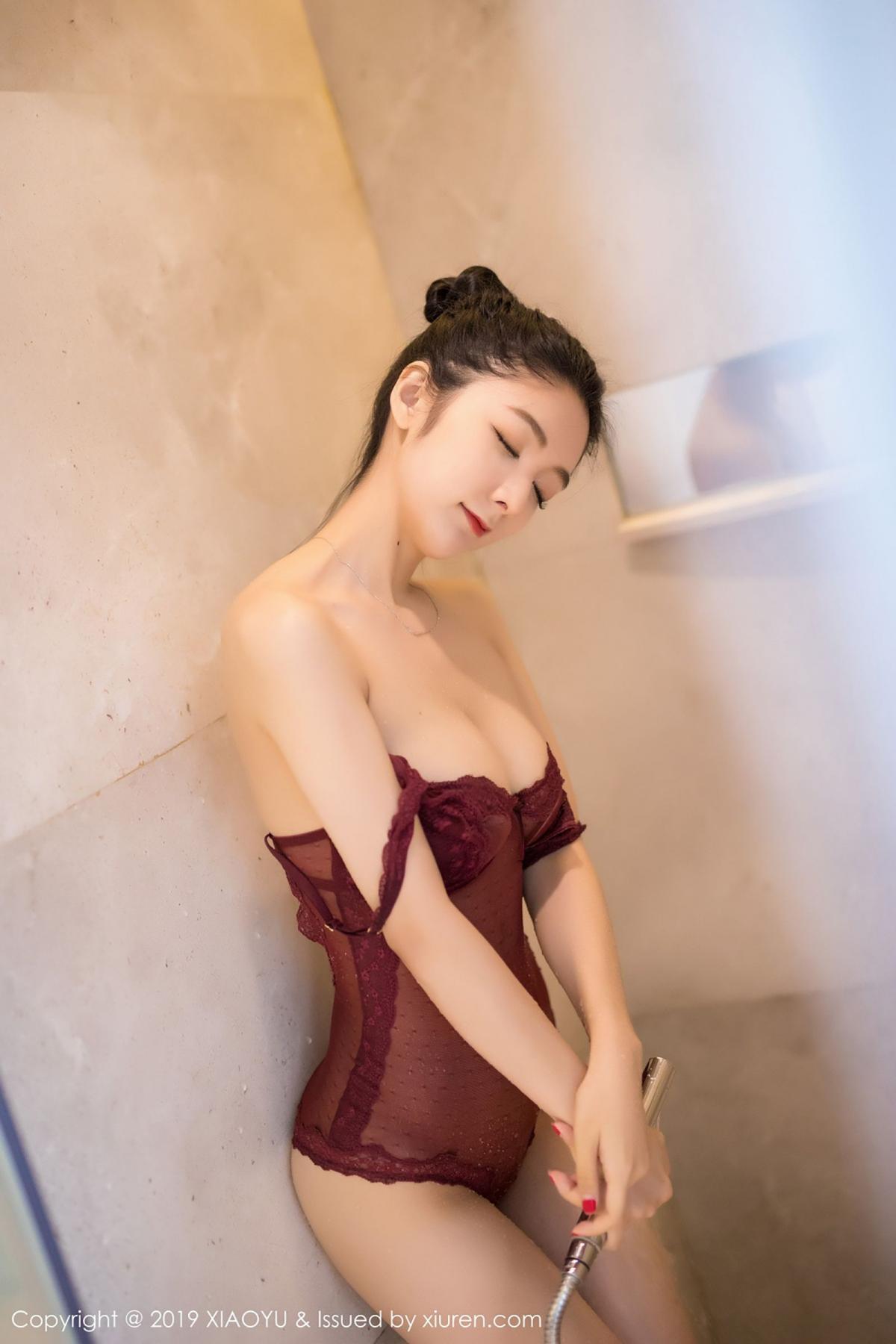 [XiaoYu] Vol.017 Di Yi 32P, Bathroom, Di Yi, Underwear, Wet, XiaoYu
