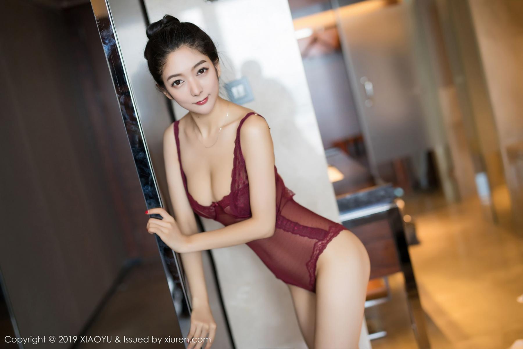 [XiaoYu] Vol.017 Di Yi 3P, Bathroom, Di Yi, Underwear, Wet, XiaoYu