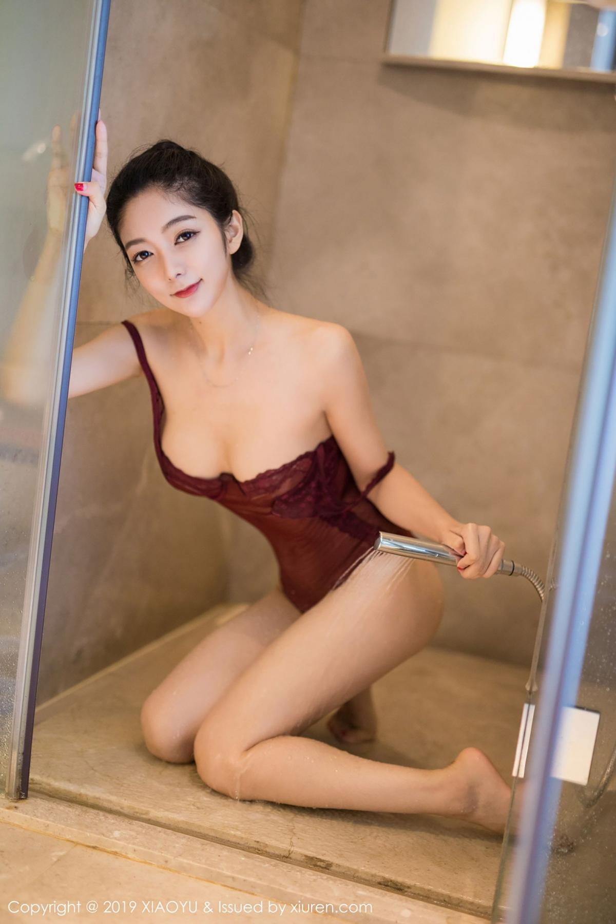 [XiaoYu] Vol.017 Di Yi 45P, Bathroom, Di Yi, Underwear, Wet, XiaoYu