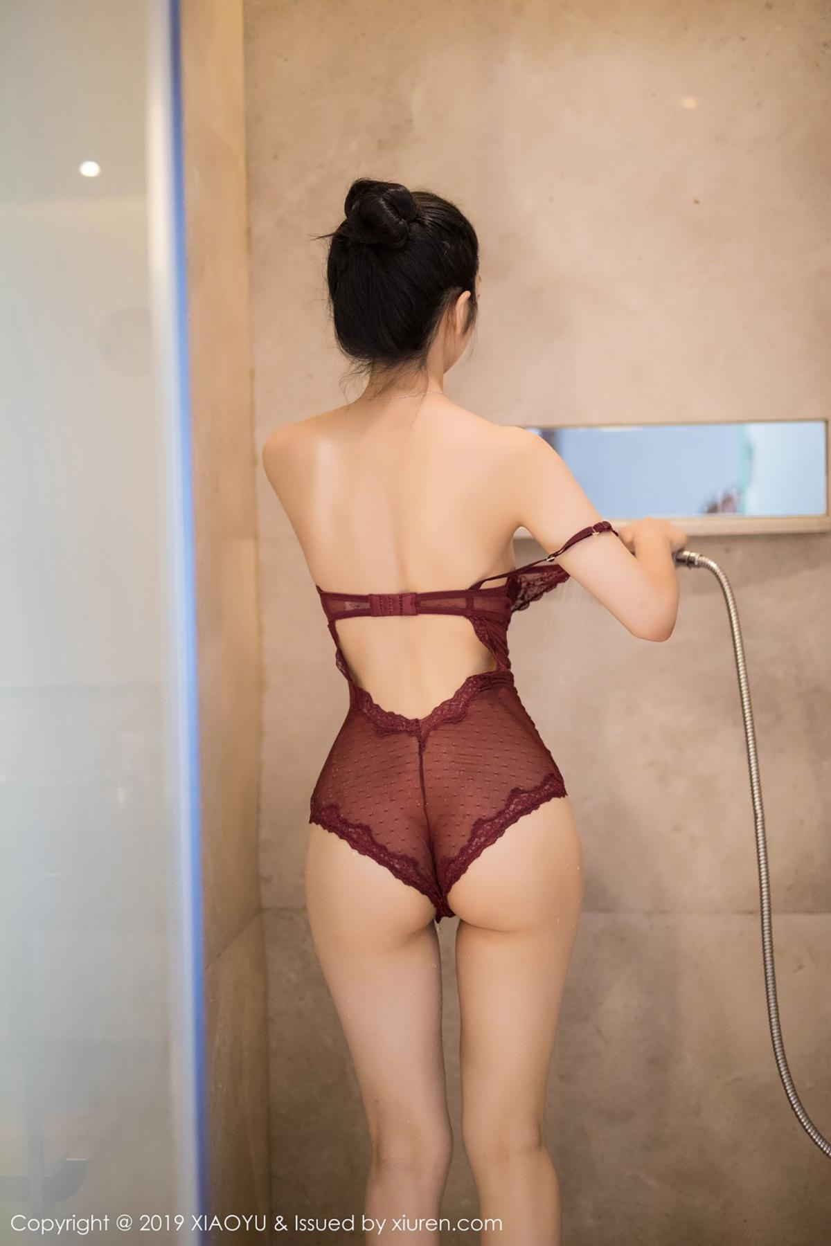 [XiaoYu] Vol.017 Di Yi 56P, Bathroom, Di Yi, Underwear, Wet, XiaoYu