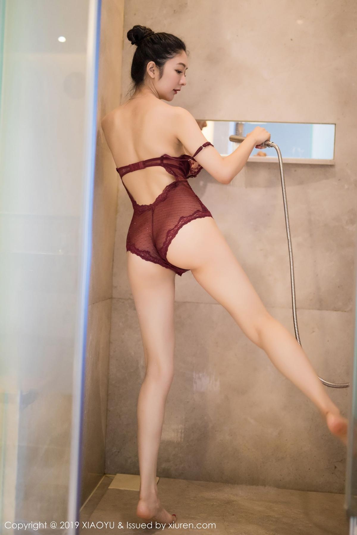 [XiaoYu] Vol.017 Di Yi 58P, Bathroom, Di Yi, Underwear, Wet, XiaoYu