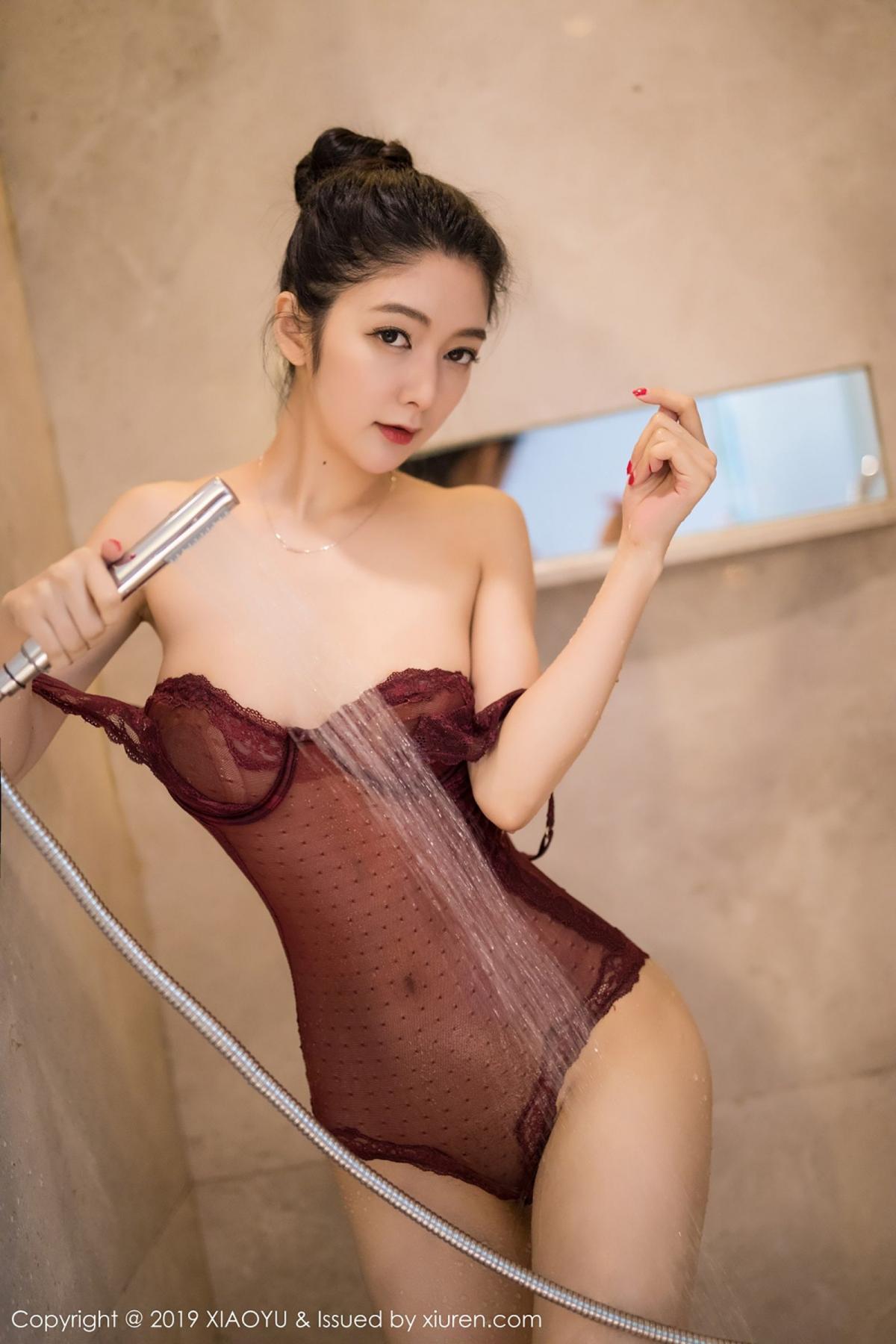 [XiaoYu] Vol.017 Di Yi 65P, Bathroom, Di Yi, Underwear, Wet, XiaoYu