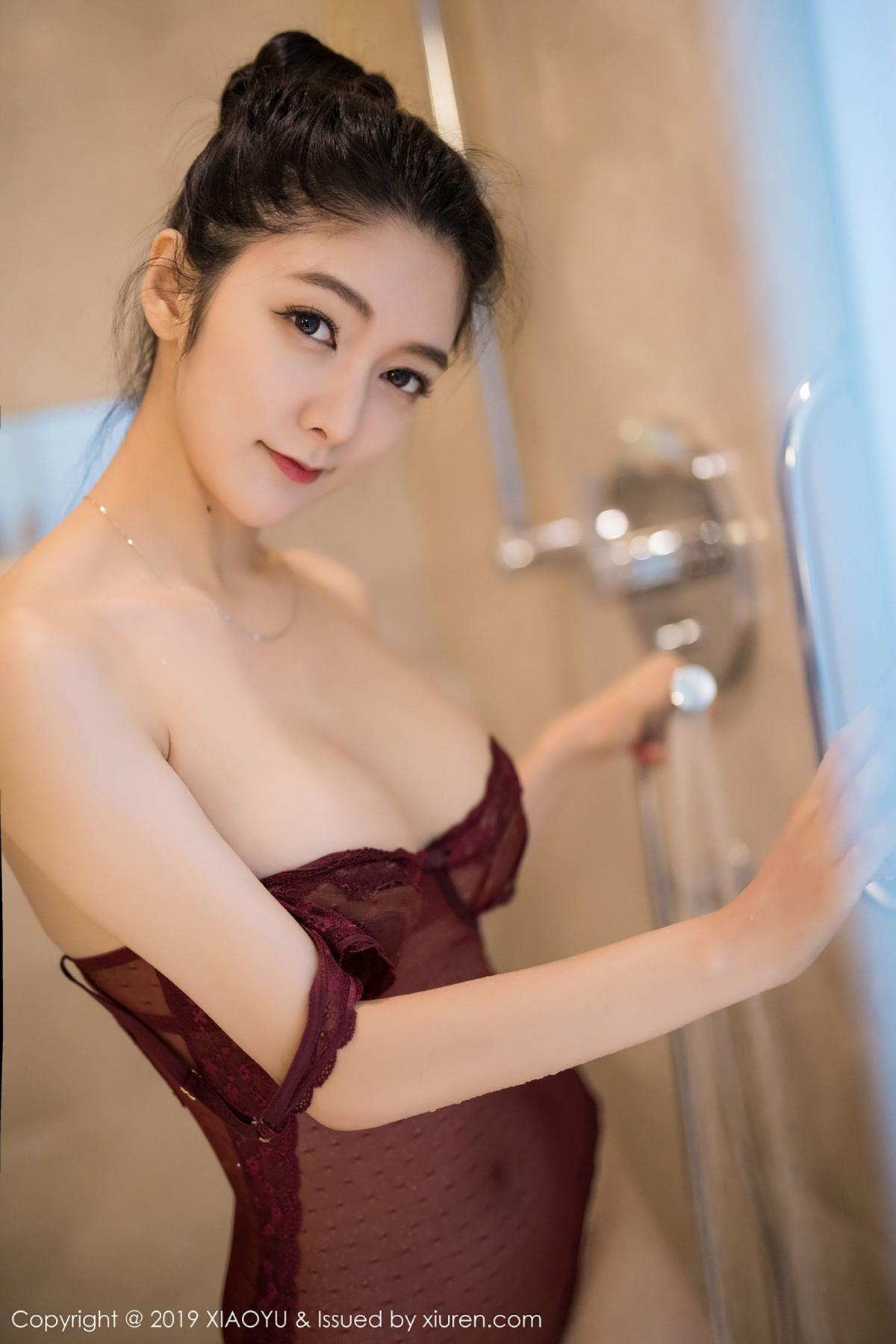 [XiaoYu] Vol.017 Di Yi 67P, Bathroom, Di Yi, Underwear, Wet, XiaoYu