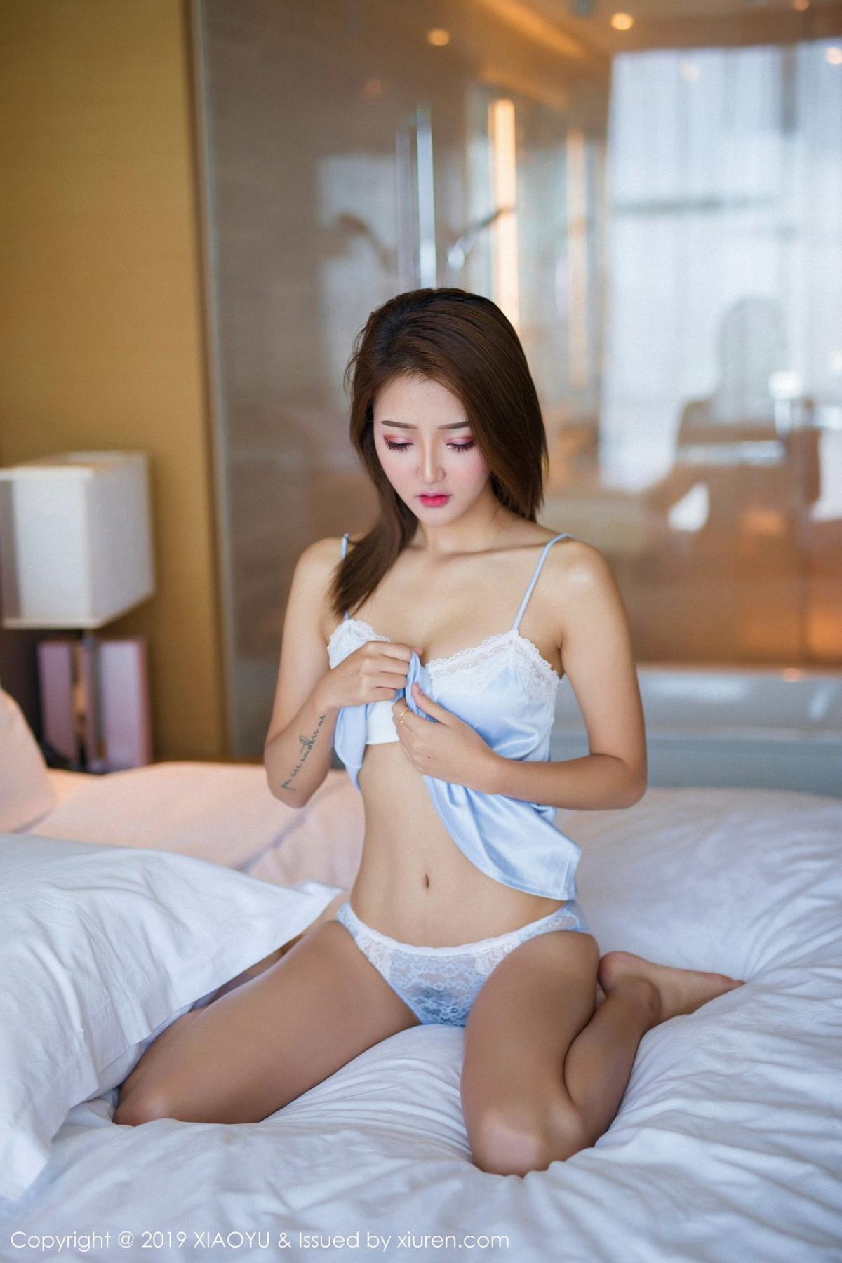 [XiaoYu] Vol.022 Miko Jiang 14P, Miko Jiang, Slim, Tall, Underwear, XiaoYu