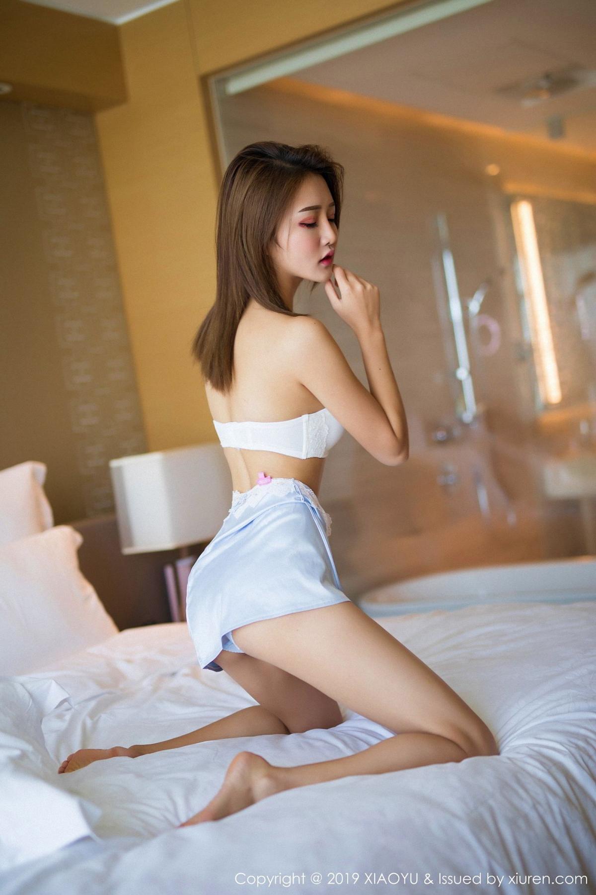 [XiaoYu] Vol.022 Miko Jiang 40P, Miko Jiang, Slim, Tall, Underwear, XiaoYu