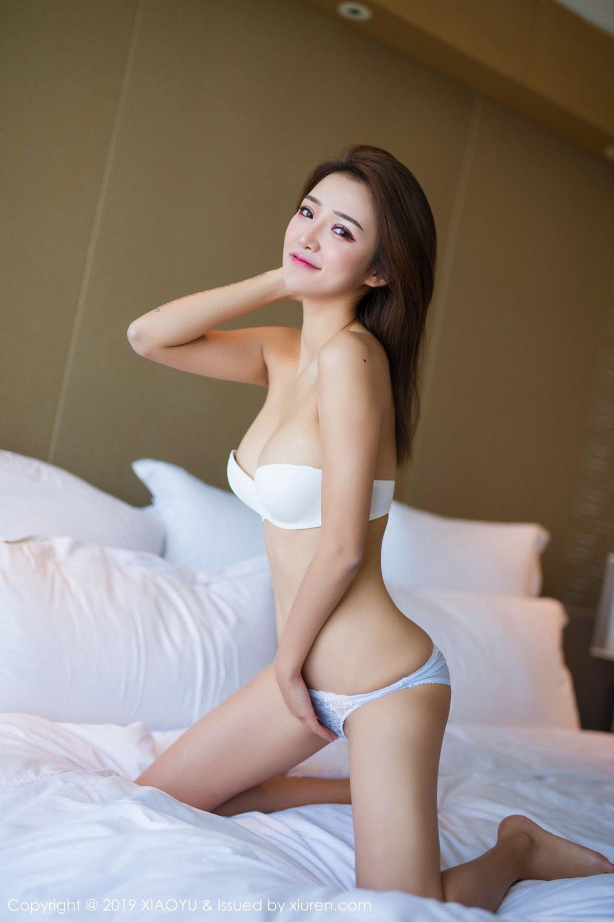 [XiaoYu] Vol.022 Miko Jiang 55P, Miko Jiang, Slim, Tall, Underwear, XiaoYu