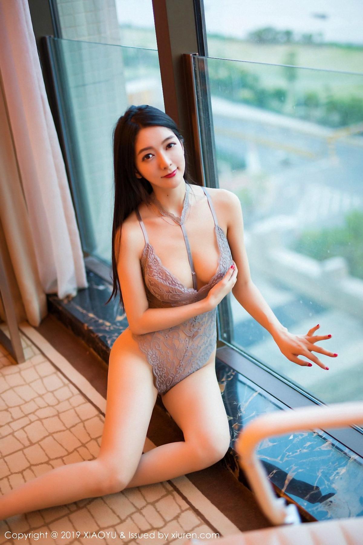 [XiaoYu] Vol.025 Di Yi 15P, Cheongsam, Di Yi, Underwear, XiaoYu