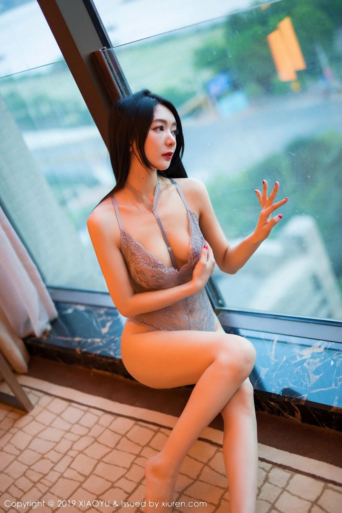 [XiaoYu] Vol.025 Di Yi 18P, Cheongsam, Di Yi, Underwear, XiaoYu