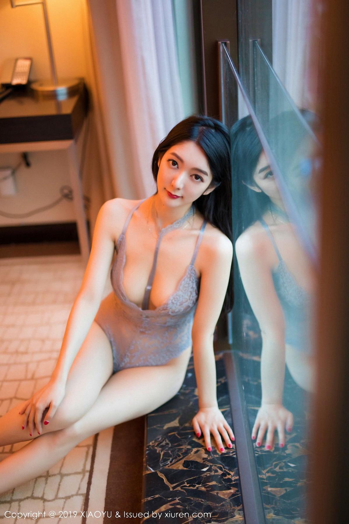[XiaoYu] Vol.025 Di Yi 19P, Cheongsam, Di Yi, Underwear, XiaoYu
