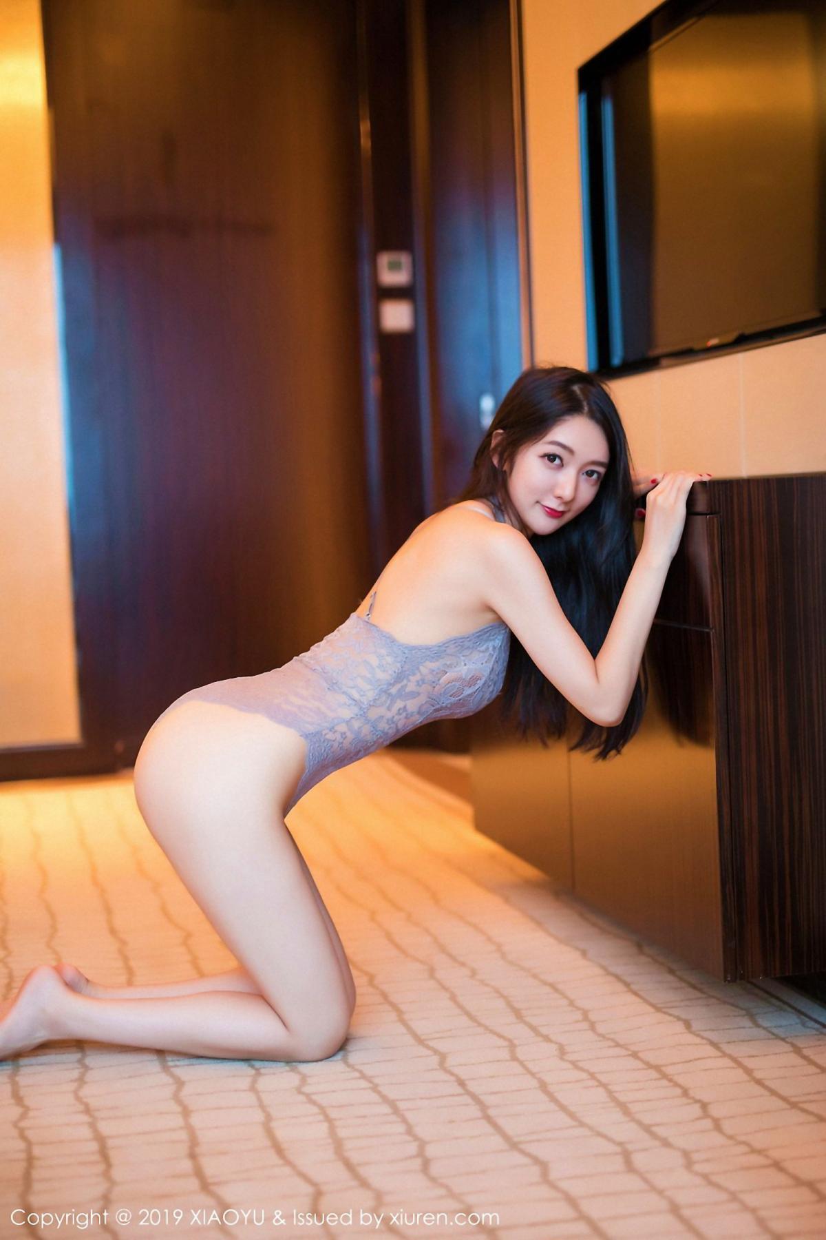[XiaoYu] Vol.025 Di Yi 3P, Cheongsam, Di Yi, Underwear, XiaoYu