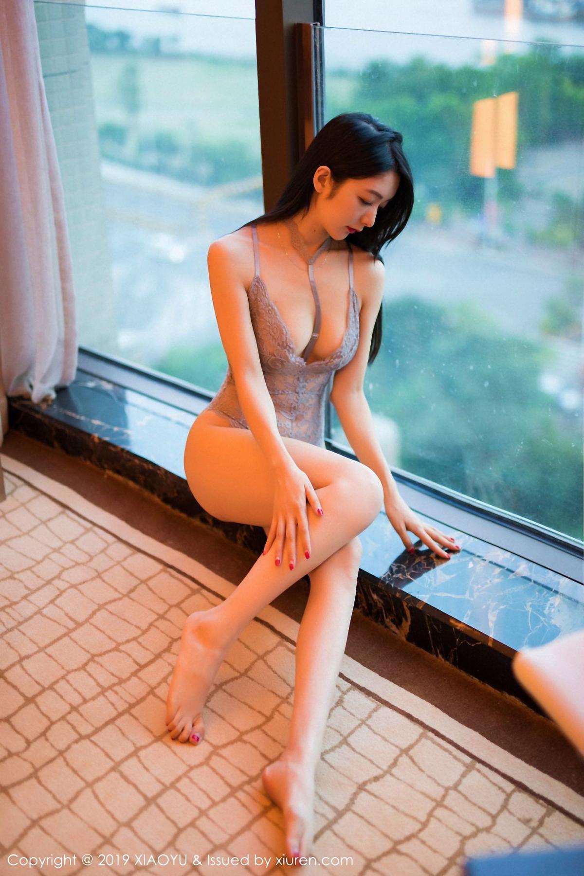 [XiaoYu] Vol.025 Di Yi 5P, Cheongsam, Di Yi, Underwear, XiaoYu