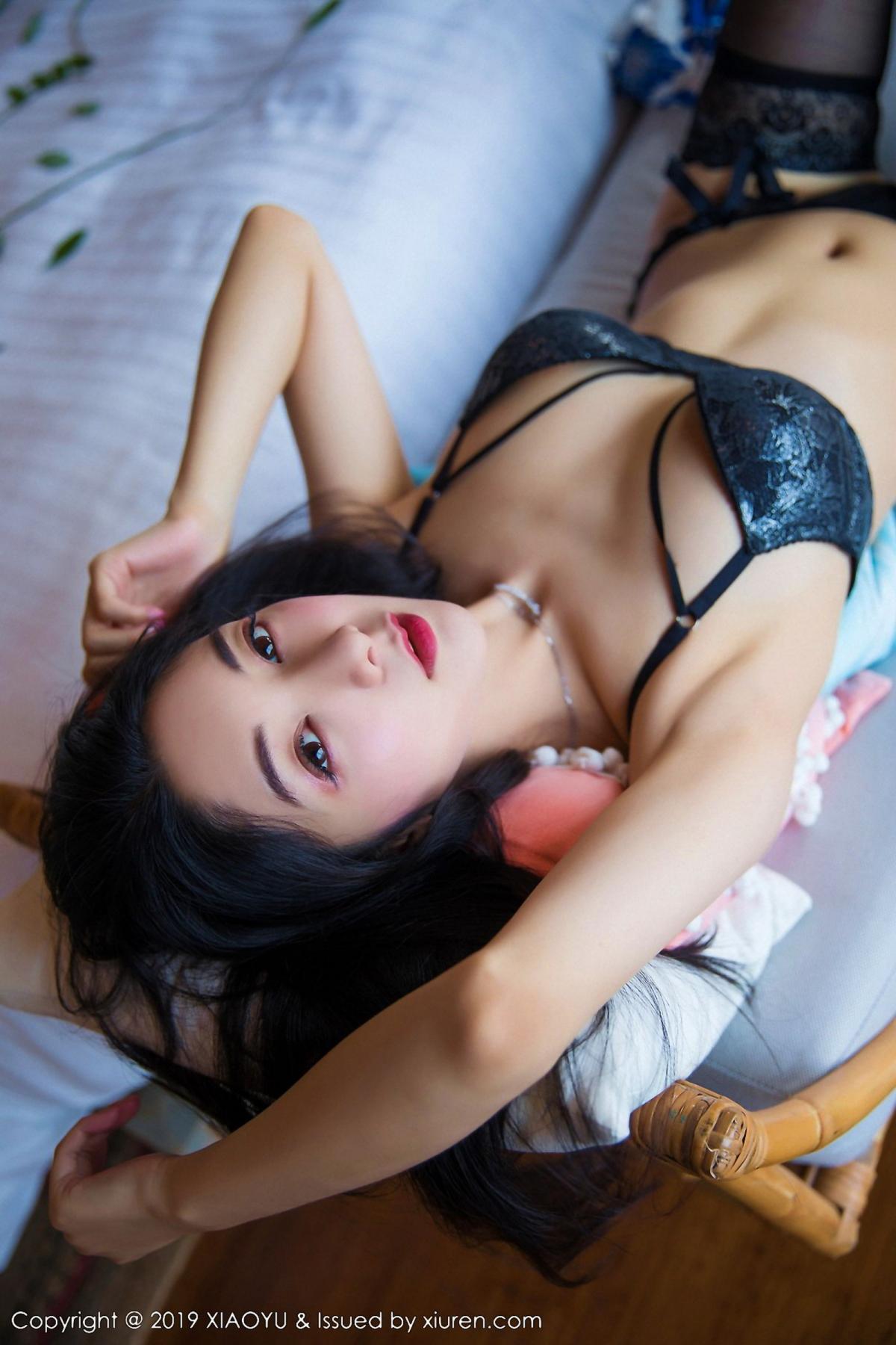 [XiaoYu] Vol.026 Di Yi 43P, Black Silk, Cheongsam, Di Yi, Foot, Tall, XiaoYu