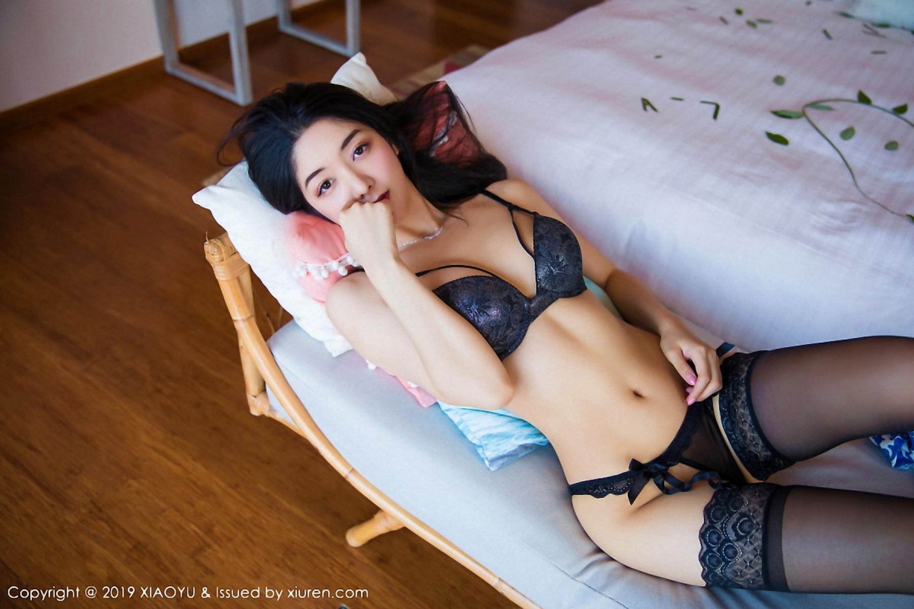 [XiaoYu] Vol.026 Di Yi 55P, Black Silk, Cheongsam, Di Yi, Foot, Tall, XiaoYu