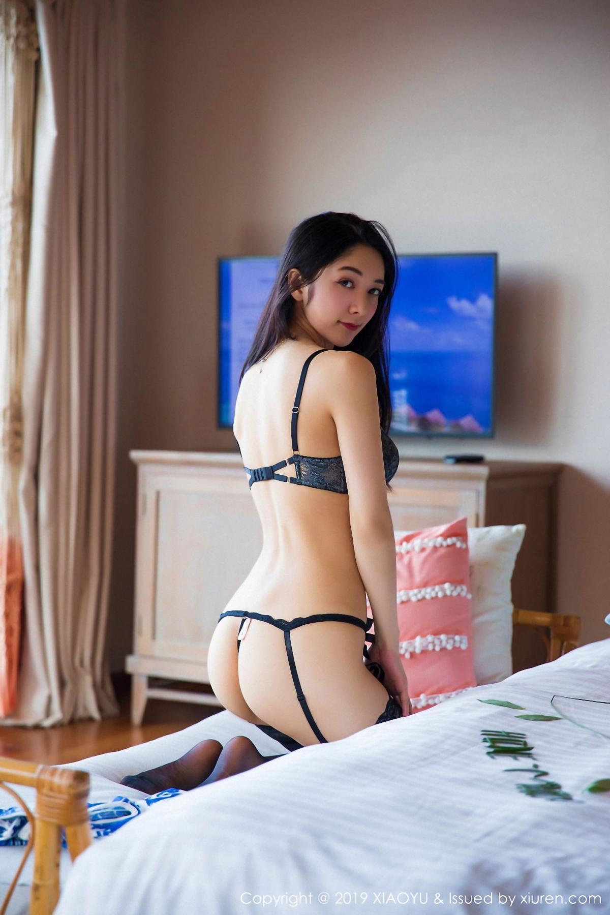 [XiaoYu] Vol.026 Di Yi 58P, Black Silk, Cheongsam, Di Yi, Foot, Tall, XiaoYu