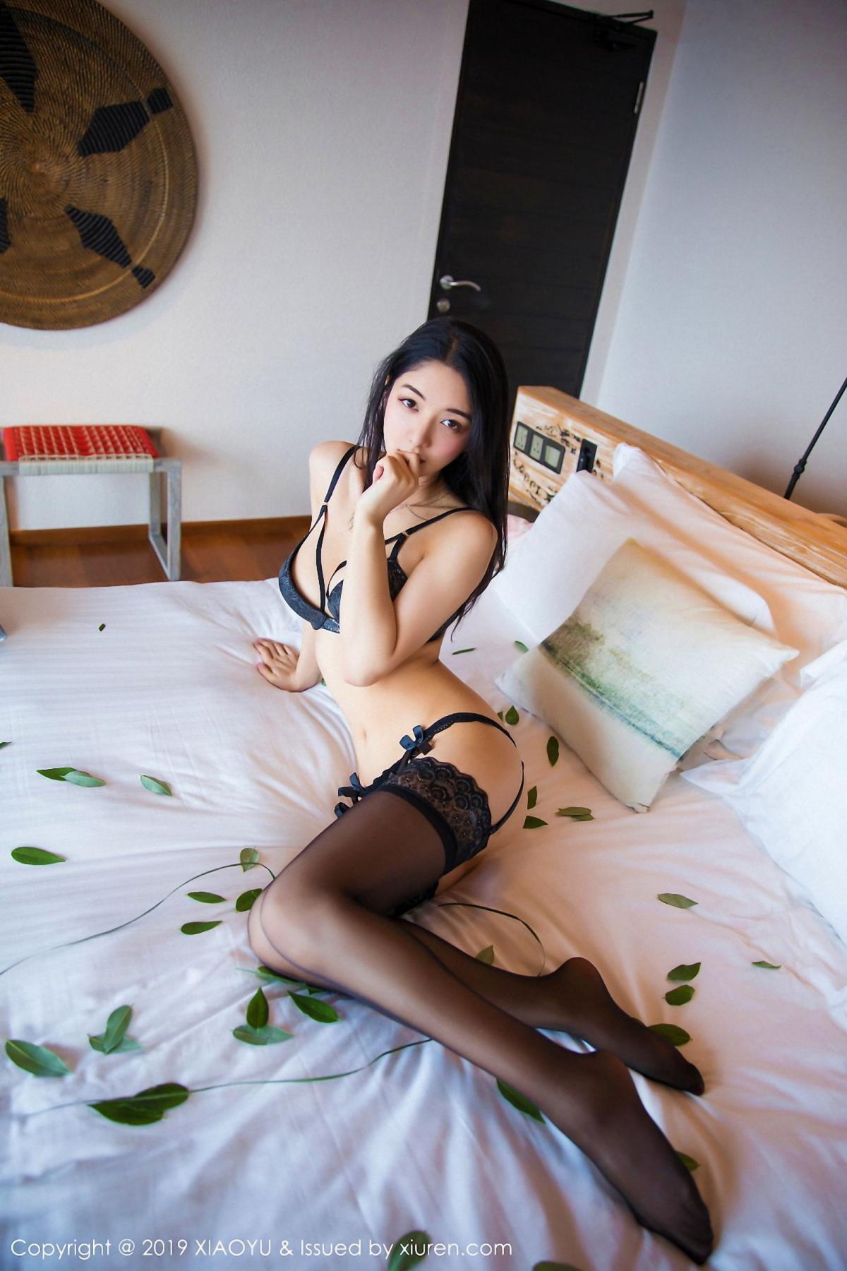 [XiaoYu] Vol.026 Di Yi 67P, Black Silk, Cheongsam, Di Yi, Foot, Tall, XiaoYu
