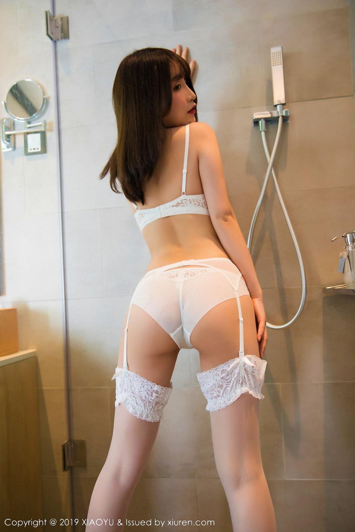 [XiaoYu] Vol.027 Xie Zhi Xin 14P, Bathroom, Underwear, XiaoYu, Xie Zhi Xin