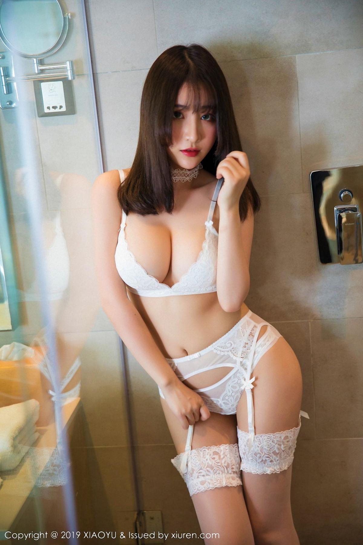 [XiaoYu] Vol.027 Xie Zhi Xin 2P, Bathroom, Underwear, XiaoYu, Xie Zhi Xin
