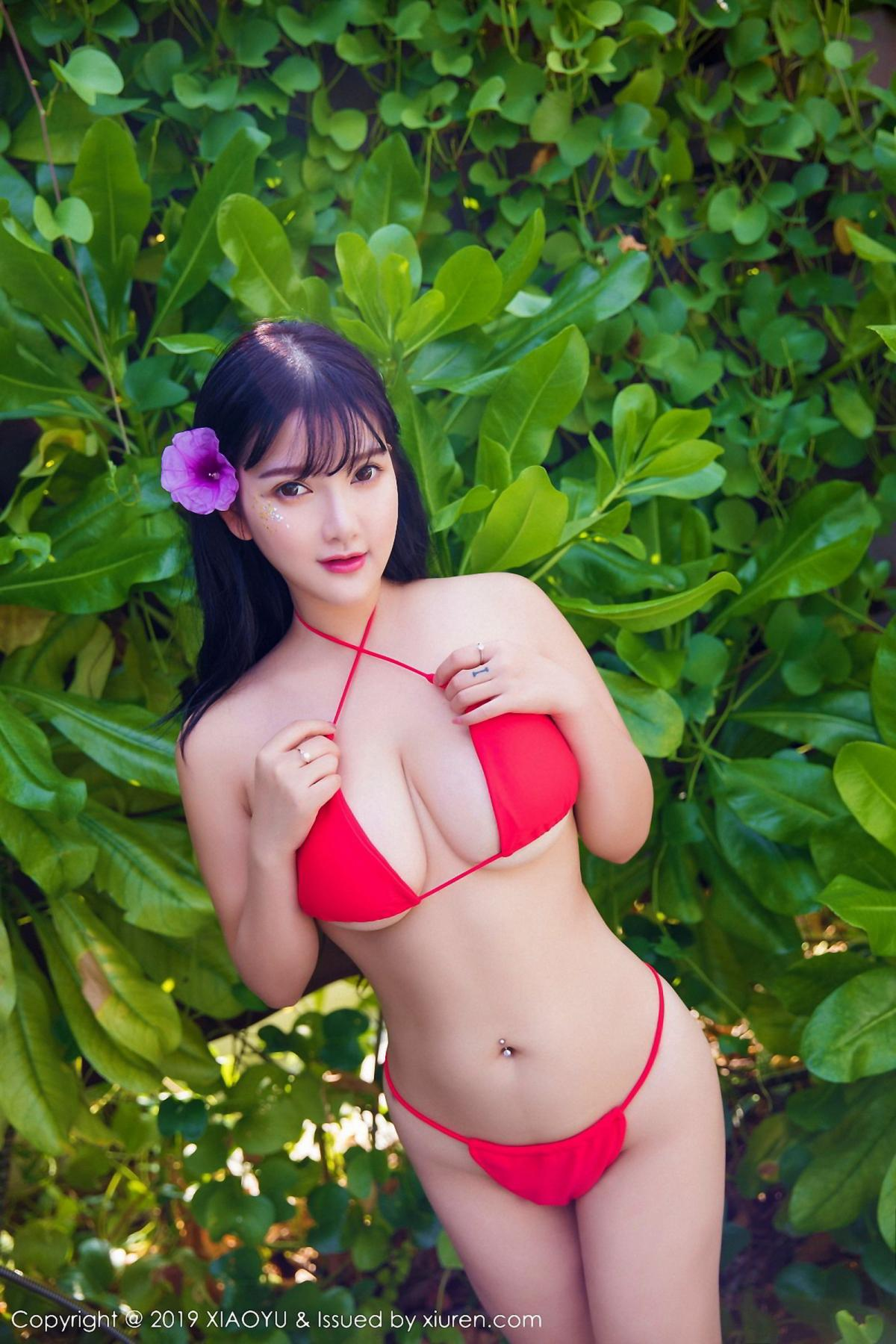 [XiaoYu] Vol.029 Lu Lu Xiao Miao 10P, Bikini, Lu Lu Xiao Miao, Wet, XiaoYu
