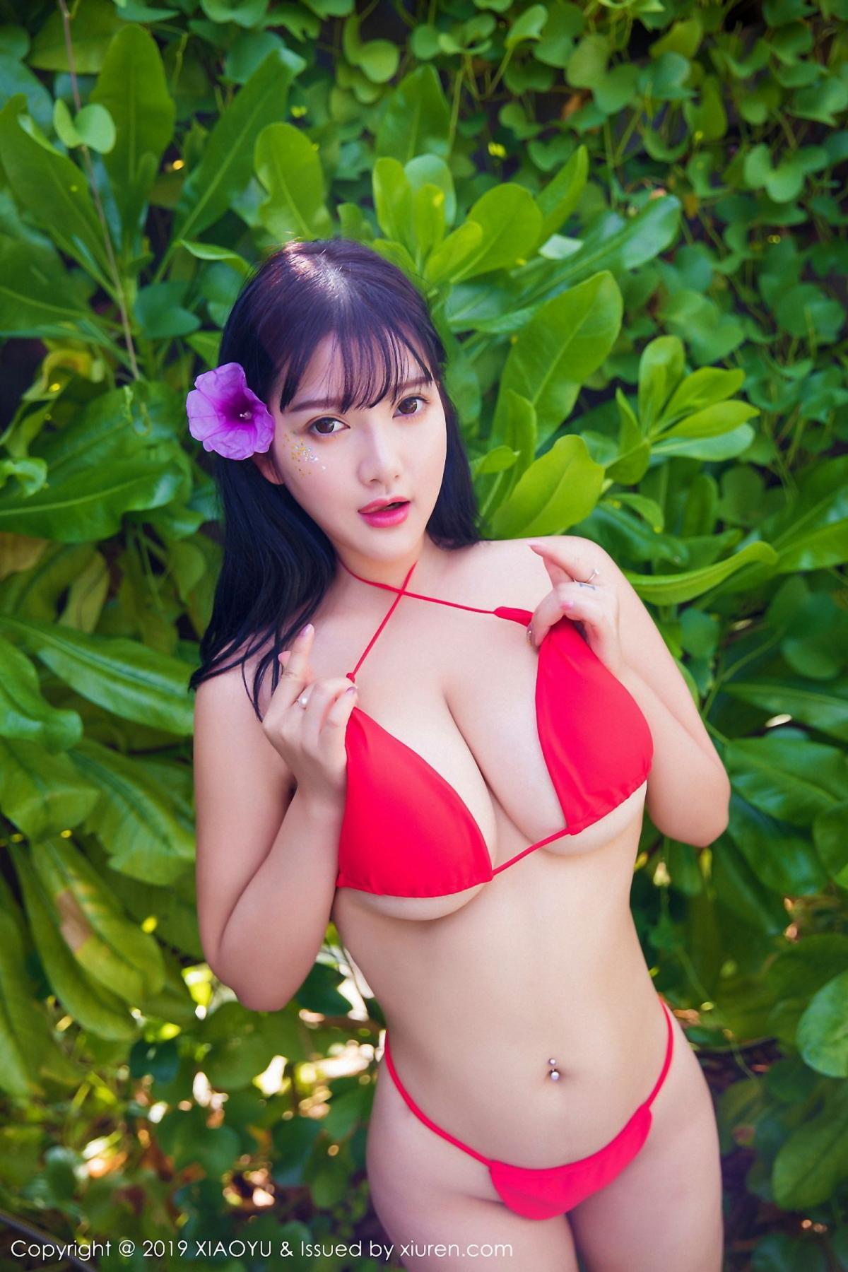 [XiaoYu] Vol.029 Lu Lu Xiao Miao 14P, Bikini, Lu Lu Xiao Miao, Wet, XiaoYu
