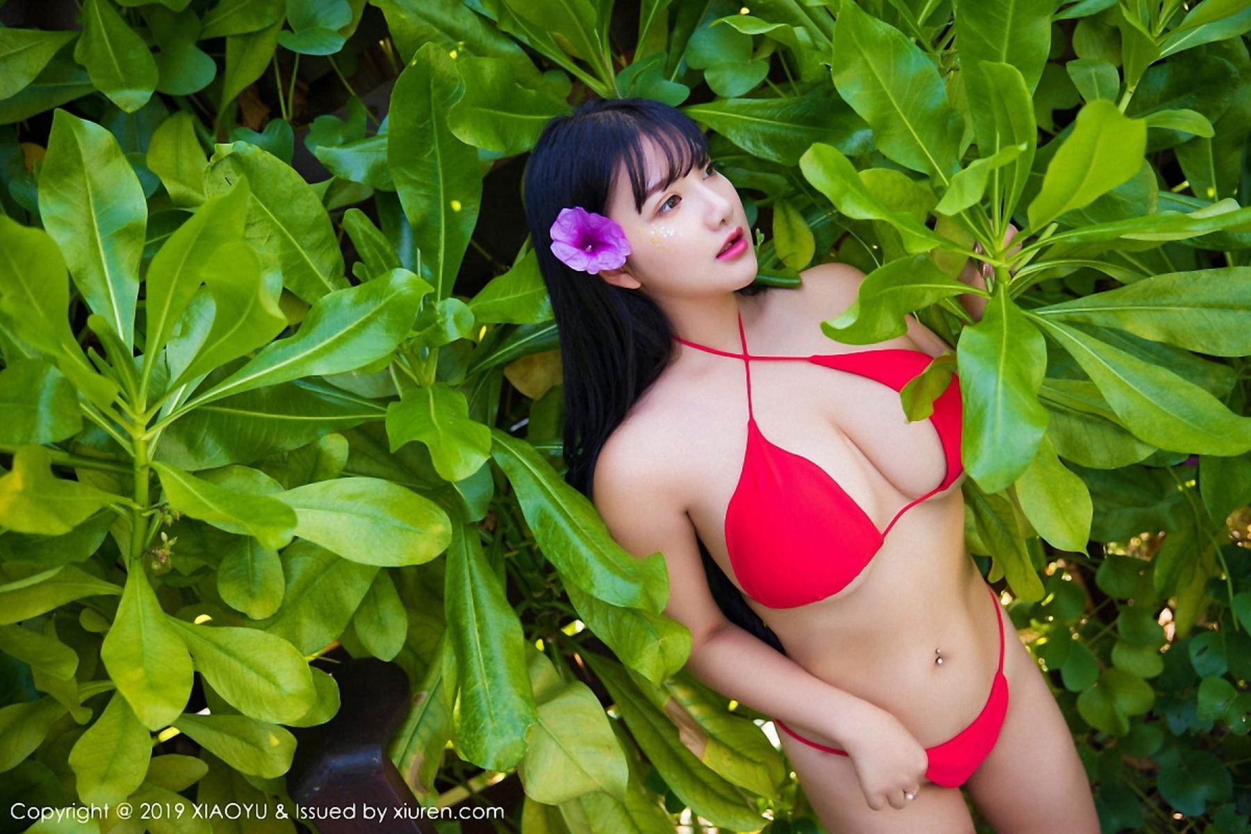 [XiaoYu] Vol.029 Lu Lu Xiao Miao 18P, Bikini, Lu Lu Xiao Miao, Wet, XiaoYu