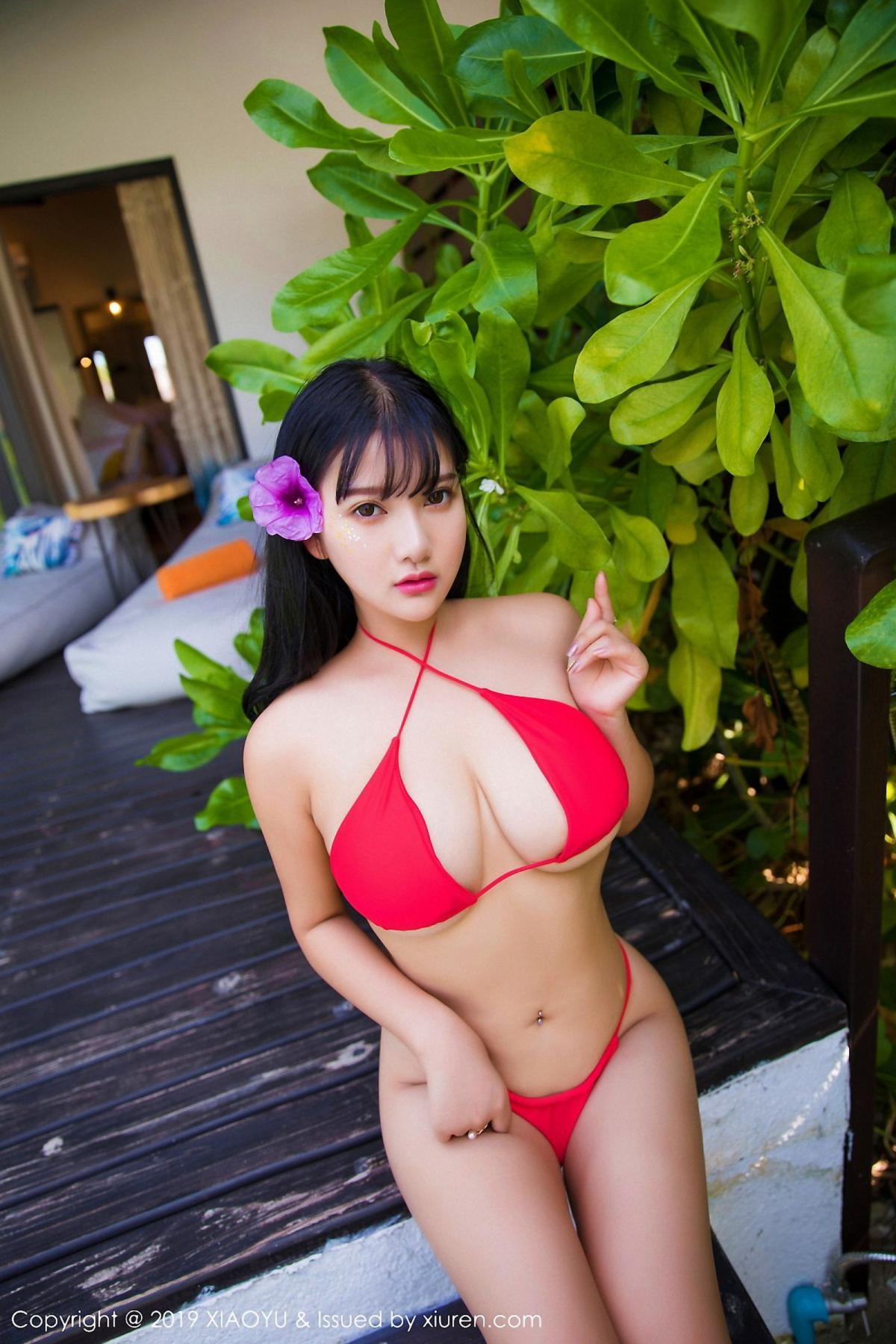 [XiaoYu] Vol.029 Lu Lu Xiao Miao 23P, Bikini, Lu Lu Xiao Miao, Wet, XiaoYu