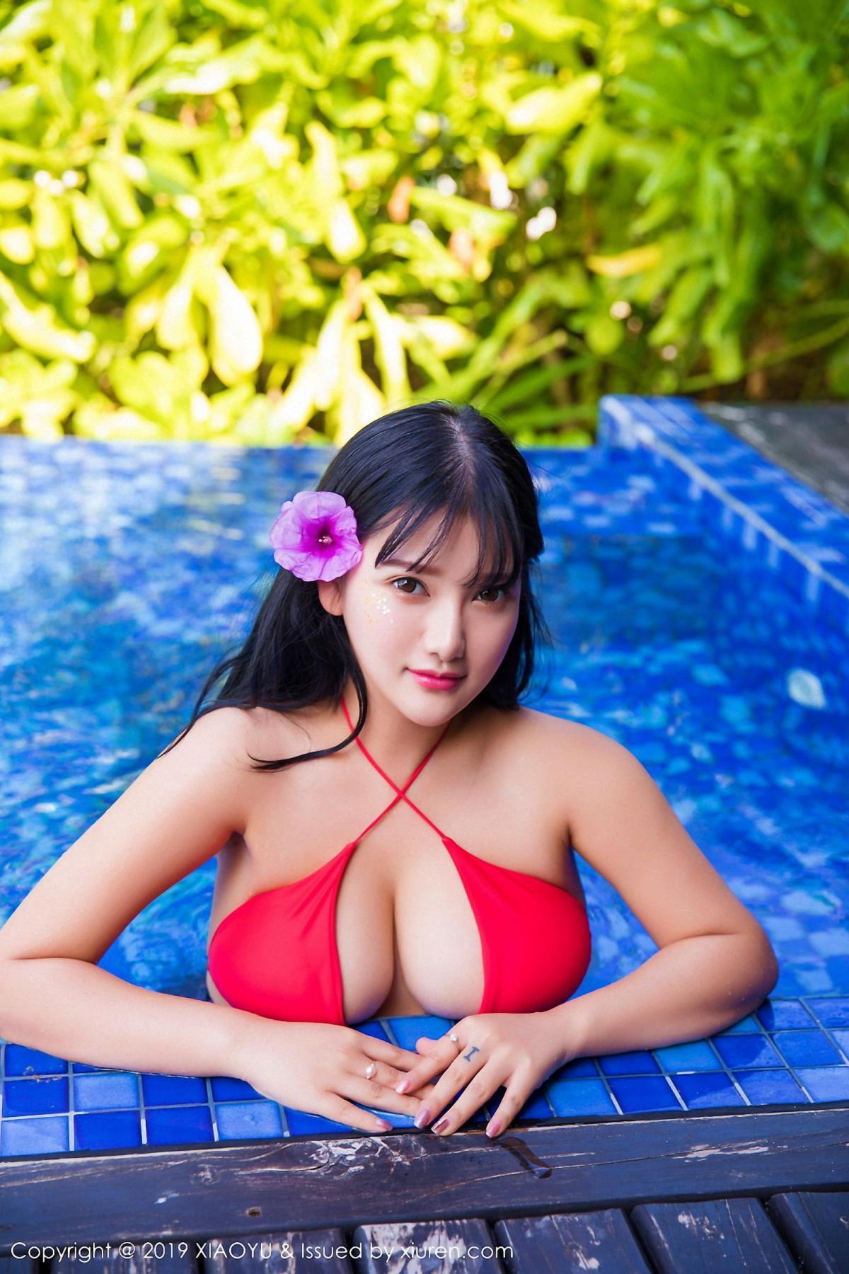 [XiaoYu] Vol.029 Lu Lu Xiao Miao 32P, Bikini, Lu Lu Xiao Miao, Wet, XiaoYu