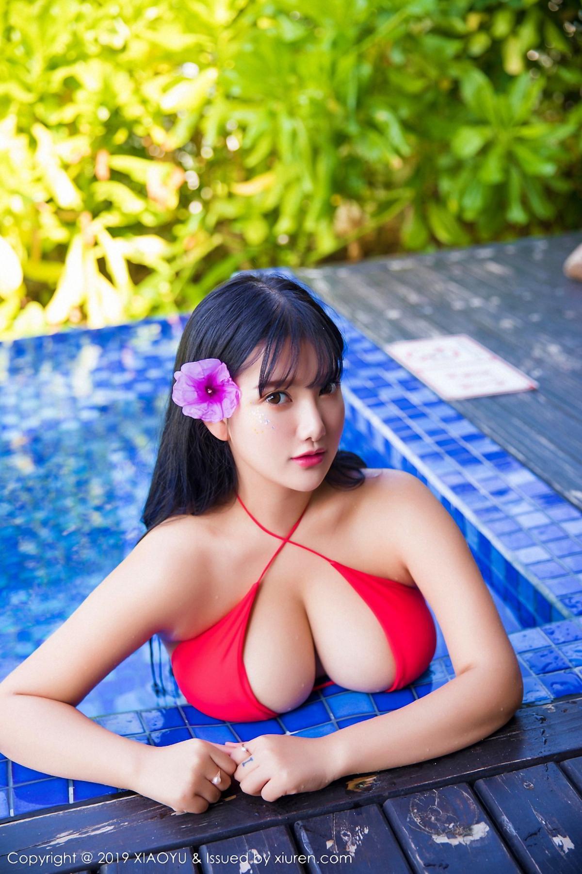 [XiaoYu] Vol.029 Lu Lu Xiao Miao 35P, Bikini, Lu Lu Xiao Miao, Wet, XiaoYu