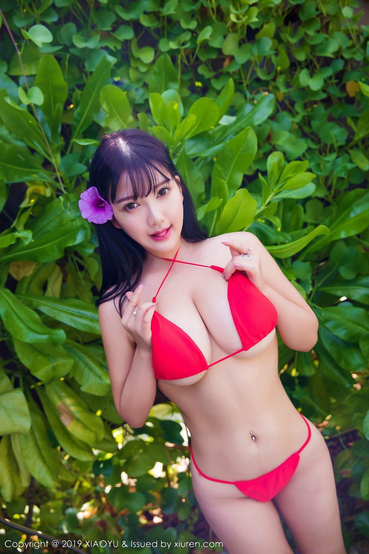 [XiaoYu] Vol.029 Lu Lu Xiao Miao 3P, Bikini, Lu Lu Xiao Miao, Wet, XiaoYu