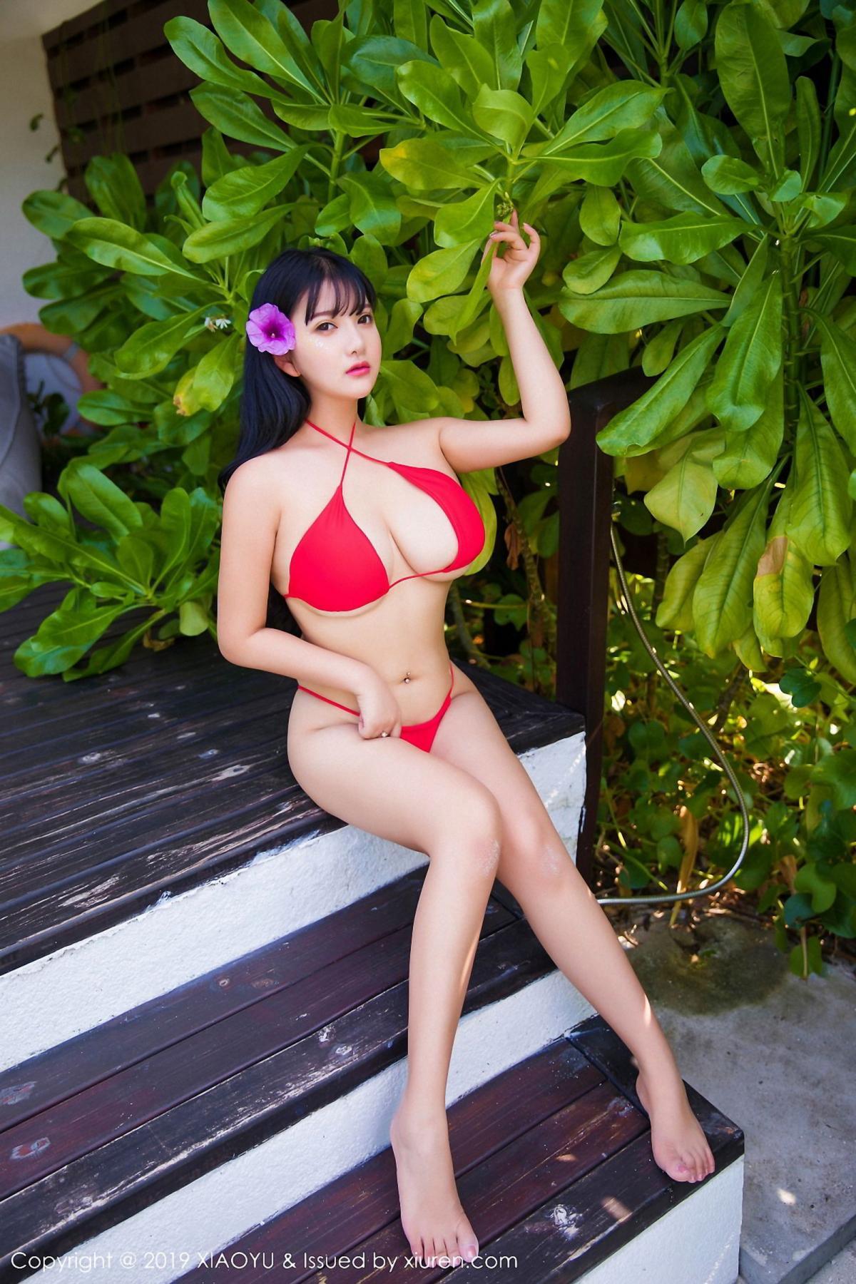 [XiaoYu] Vol.029 Lu Lu Xiao Miao 5P, Bikini, Lu Lu Xiao Miao, Wet, XiaoYu