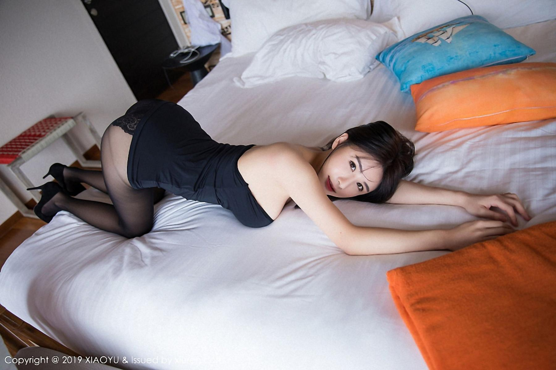 [XiaoYu] Vol.030 Lin Lin Ailin 41P, Black Silk, Lin Lin Ailin, Tall, XiaoYu