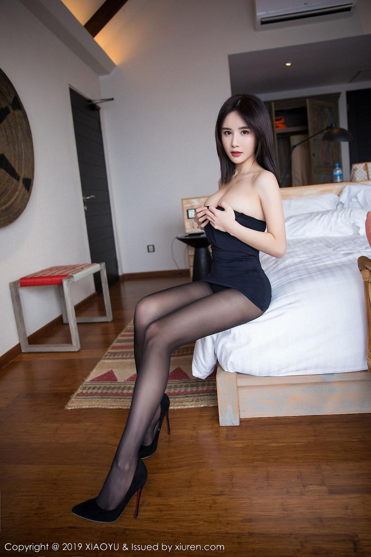 [XiaoYu] Vol.030 Lin Lin Ailin 67P, Black Silk, Lin Lin Ailin, Tall, XiaoYu