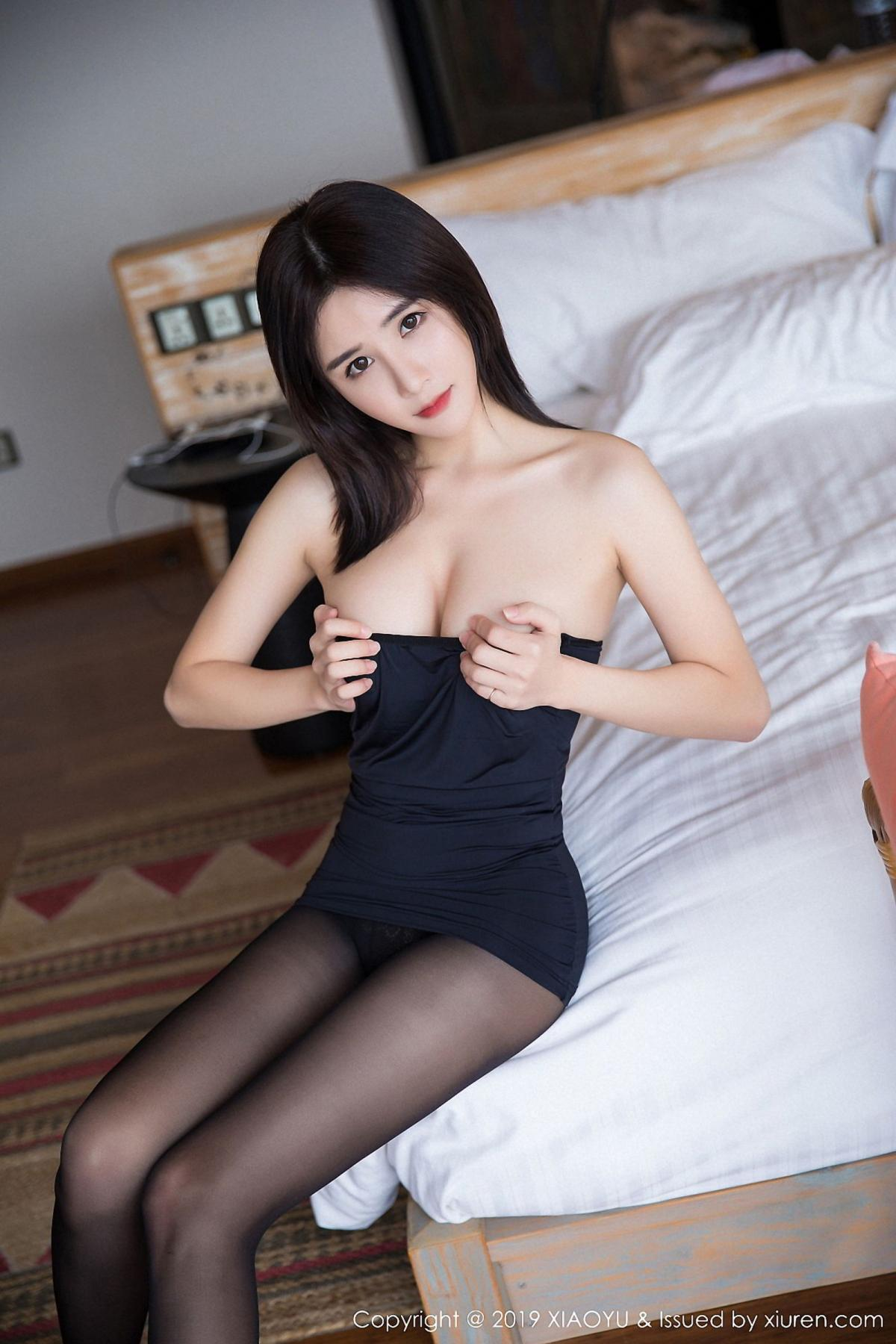 [XiaoYu] Vol.030 Lin Lin Ailin 69P, Black Silk, Lin Lin Ailin, Tall, XiaoYu