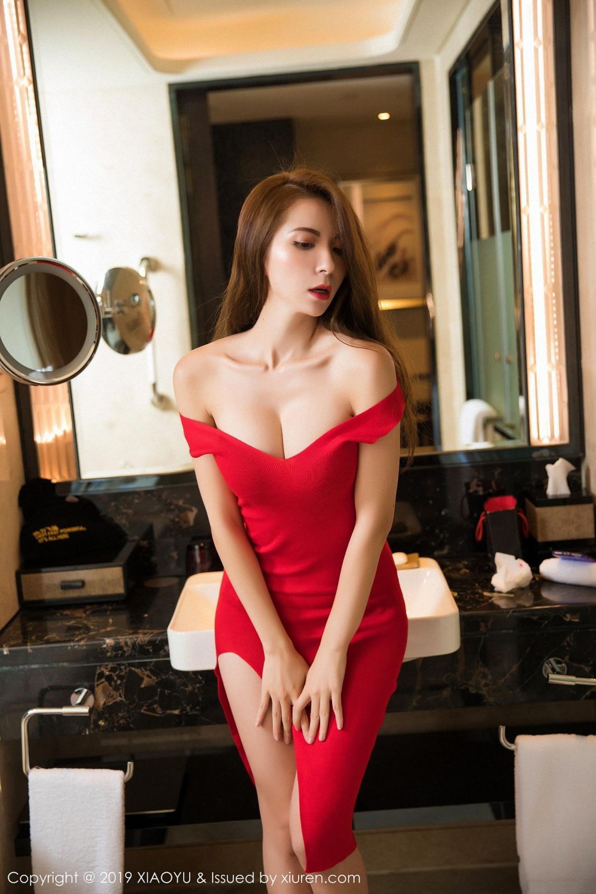 [XiaoYu] Vol.033 Chen Liang Ling 12P, Chen Liang Ling, Tall, Underwear, XiaoYu