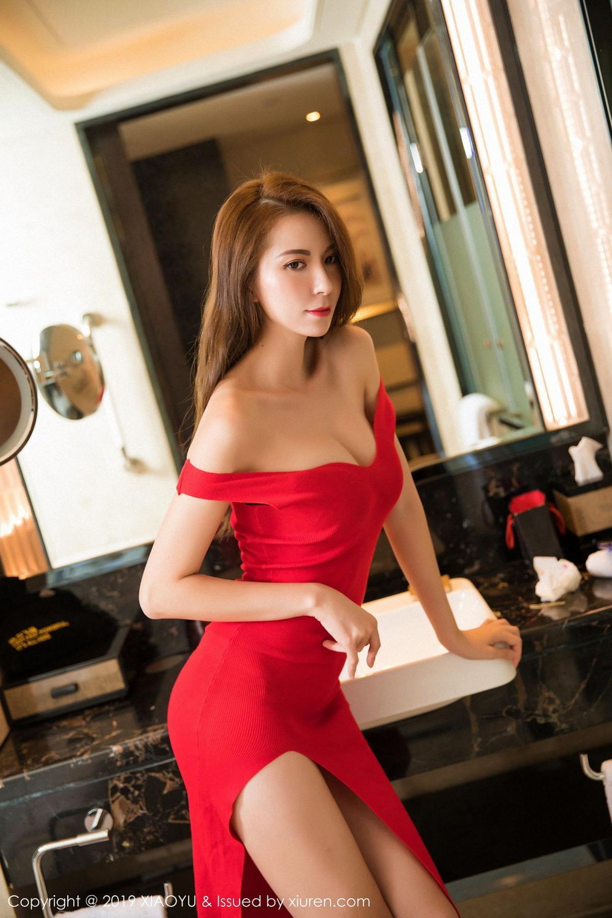 [XiaoYu] Vol.033 Chen Liang Ling 13P, Chen Liang Ling, Tall, Underwear, XiaoYu
