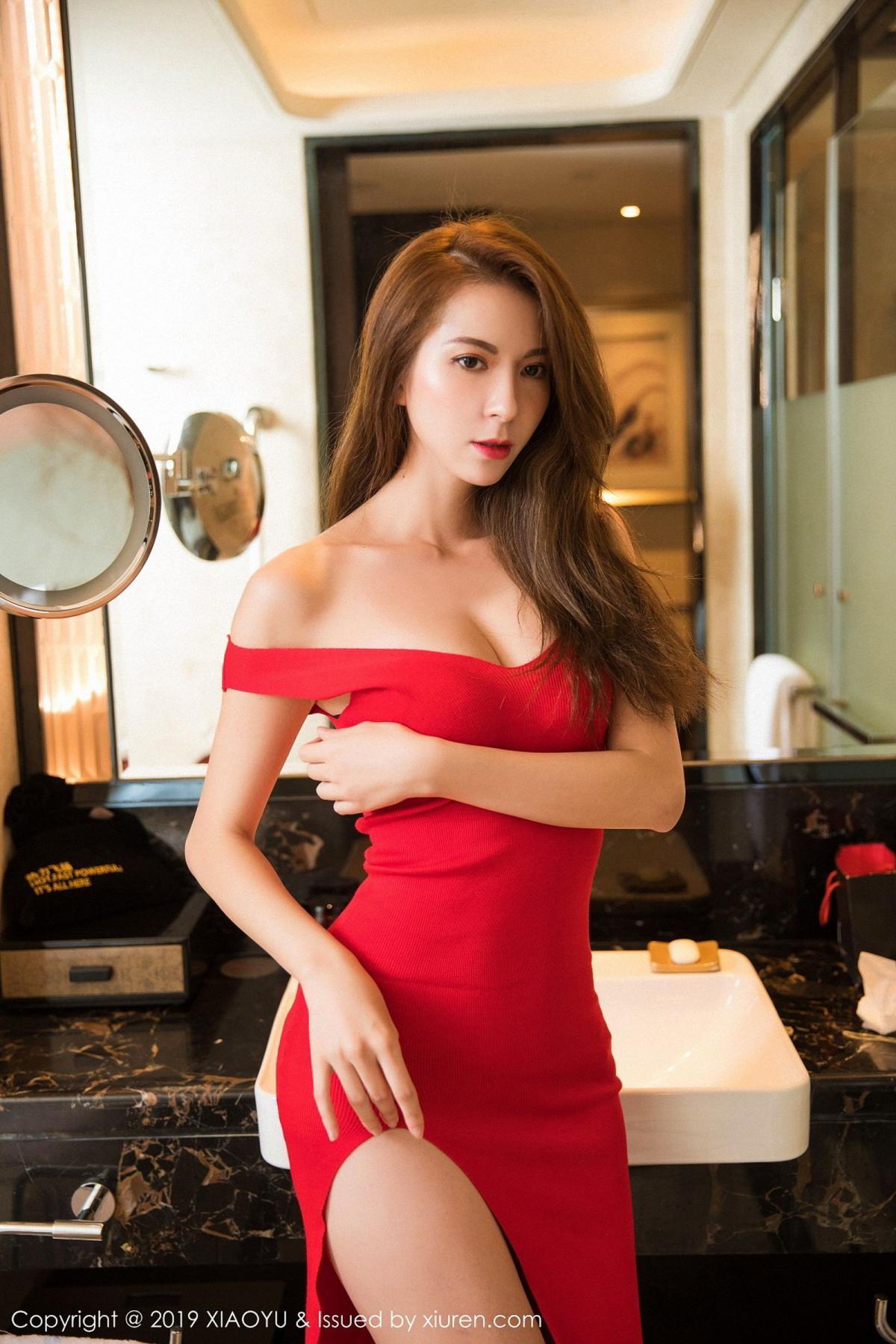 [XiaoYu] Vol.033 Chen Liang Ling 14P, Chen Liang Ling, Tall, Underwear, XiaoYu