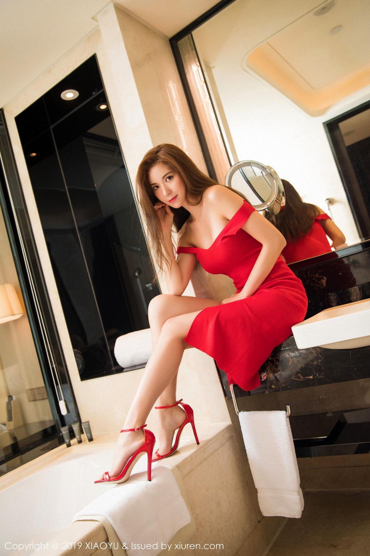 [XiaoYu] Vol.033 Chen Liang Ling 16P, Chen Liang Ling, Tall, Underwear, XiaoYu