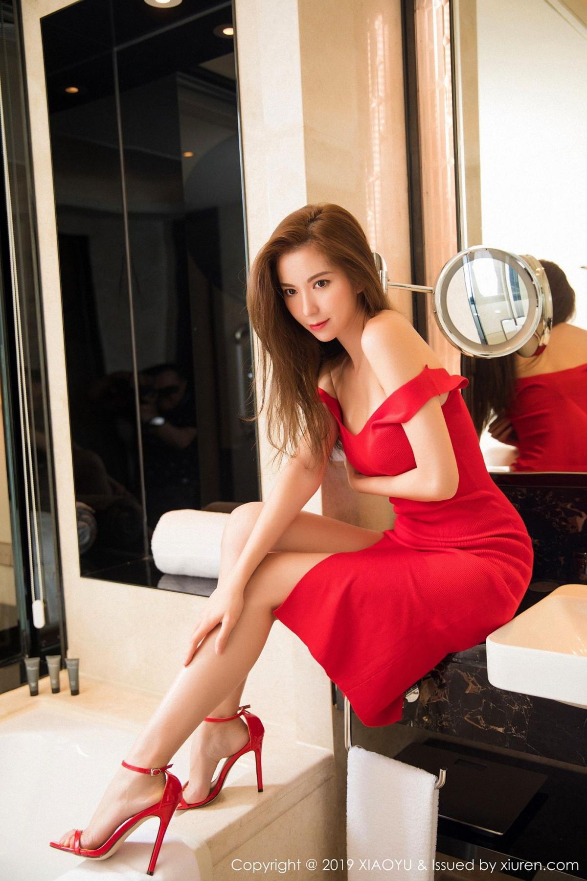 [XiaoYu] Vol.033 Chen Liang Ling 17P, Chen Liang Ling, Tall, Underwear, XiaoYu