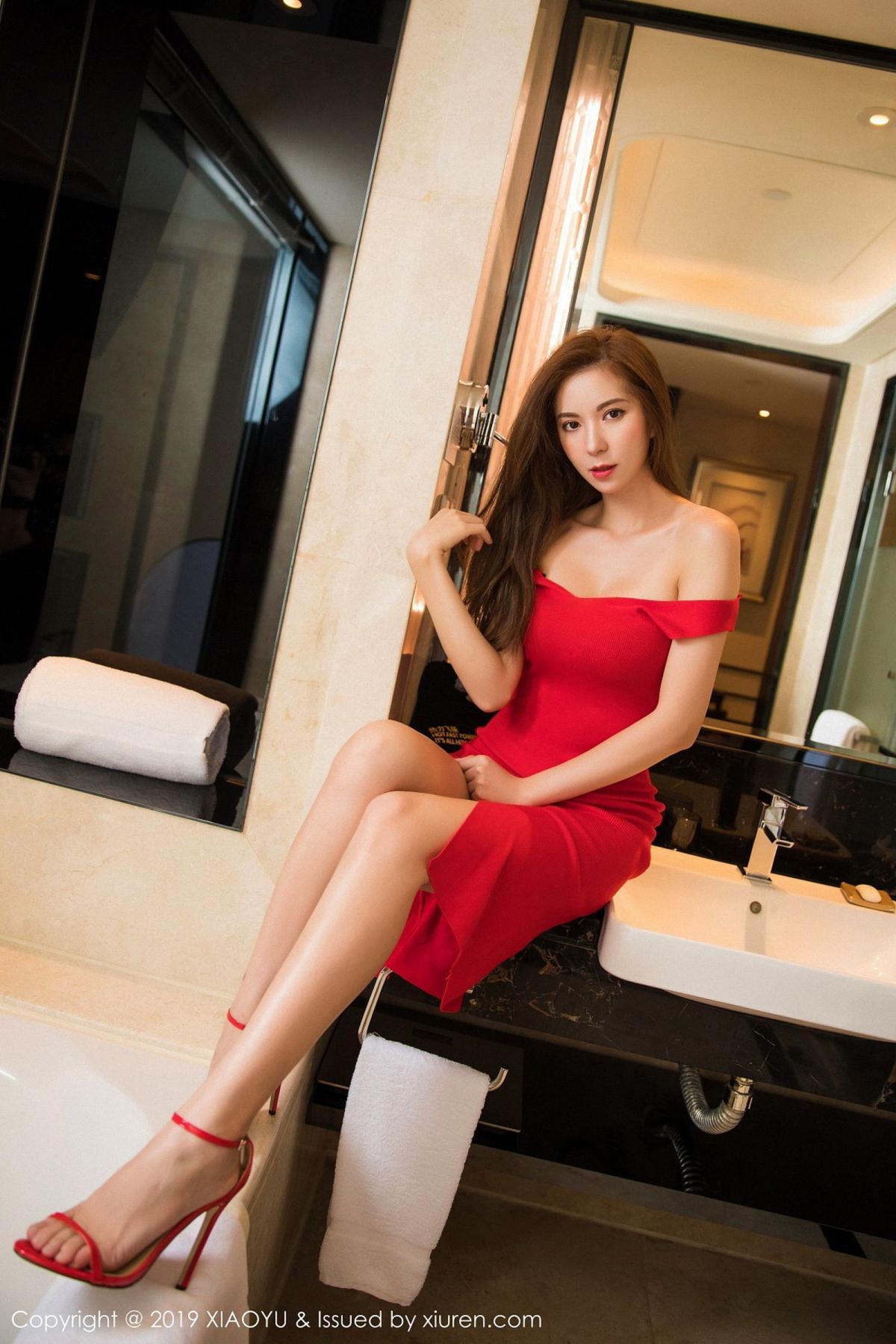 [XiaoYu] Vol.033 Chen Liang Ling 19P, Chen Liang Ling, Tall, Underwear, XiaoYu
