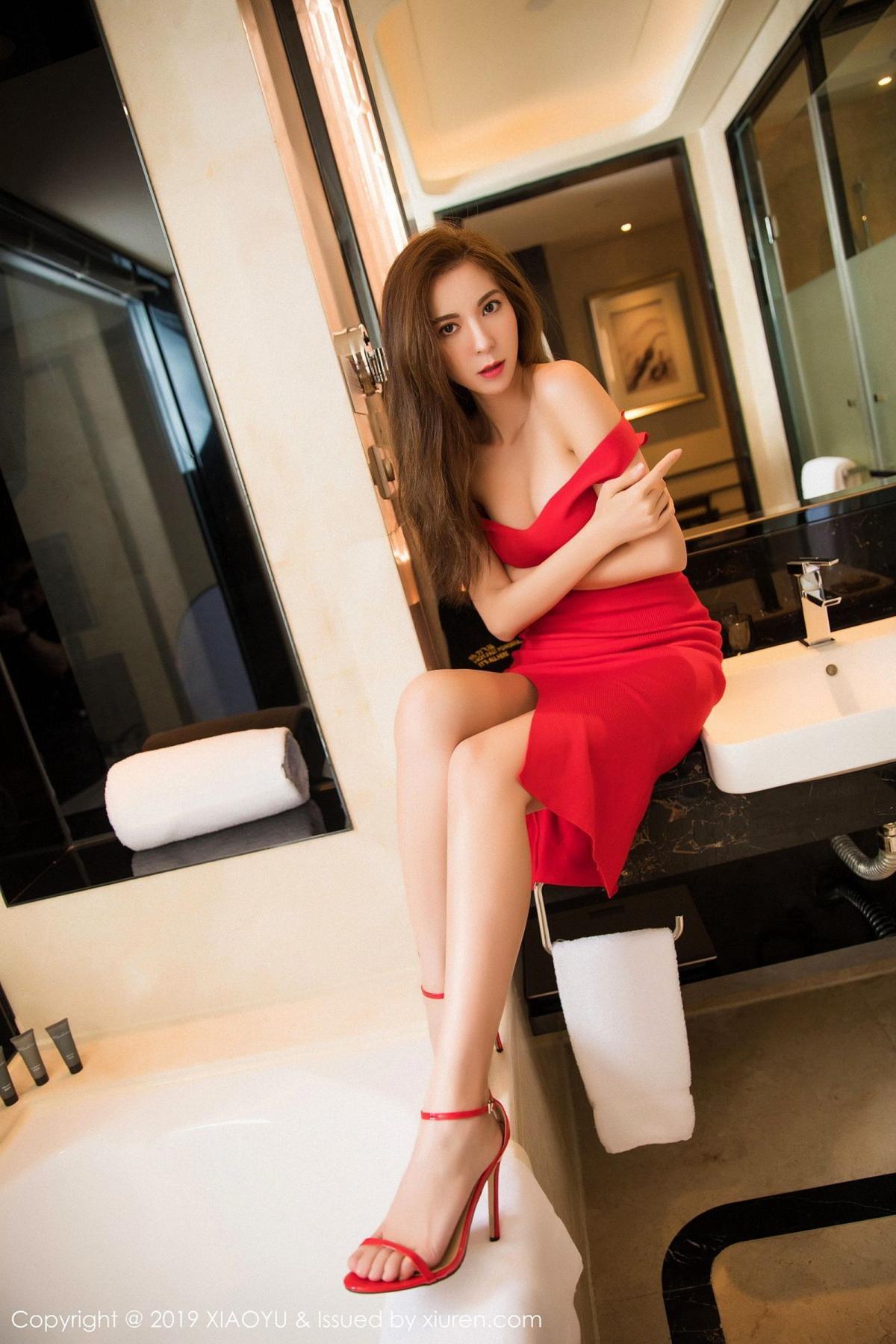 [XiaoYu] Vol.033 Chen Liang Ling 1P, Chen Liang Ling, Tall, Underwear, XiaoYu