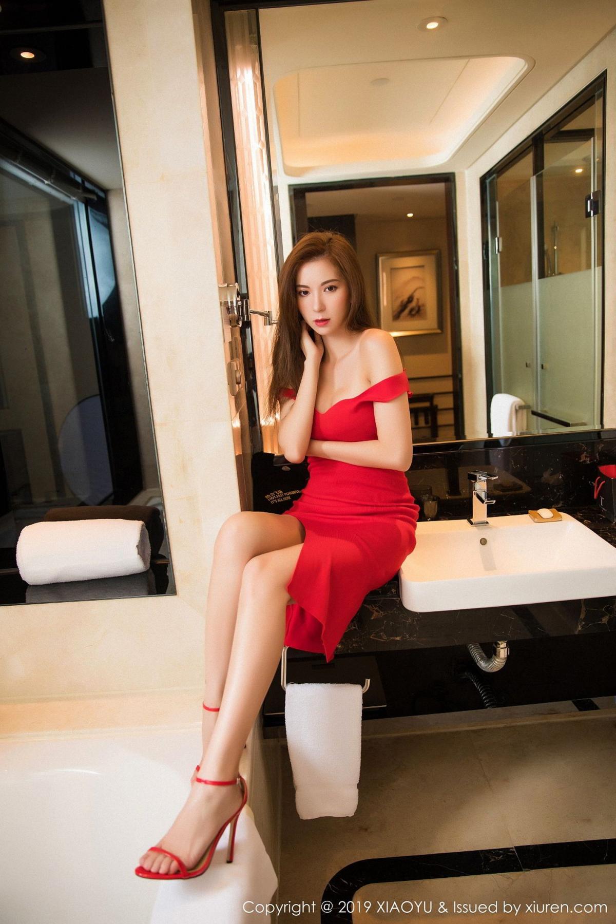 [XiaoYu] Vol.033 Chen Liang Ling 20P, Chen Liang Ling, Tall, Underwear, XiaoYu