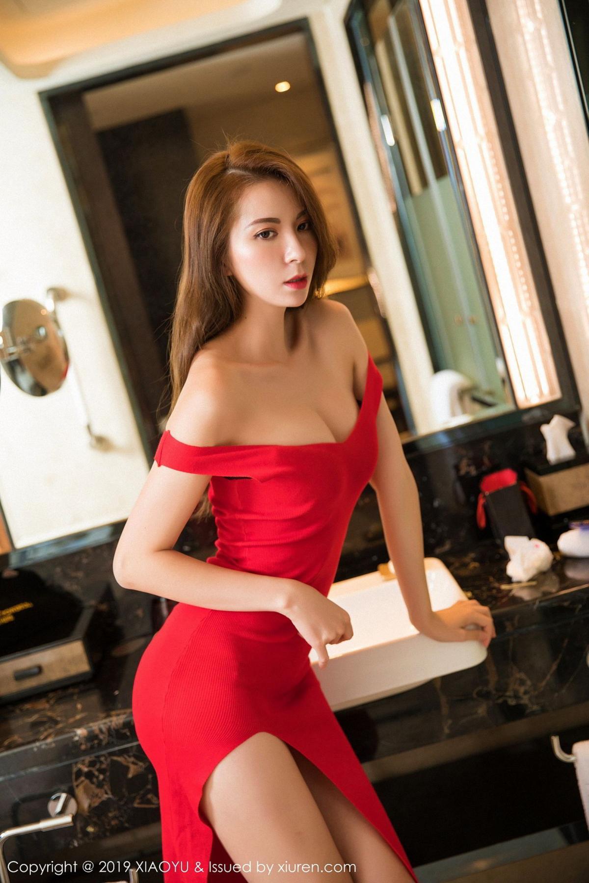 [XiaoYu] Vol.033 Chen Liang Ling 3P, Chen Liang Ling, Tall, Underwear, XiaoYu