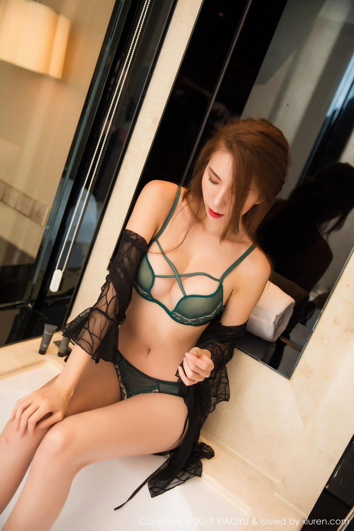 [XiaoYu] Vol.033 Chen Liang Ling 40P, Chen Liang Ling, Tall, Underwear, XiaoYu
