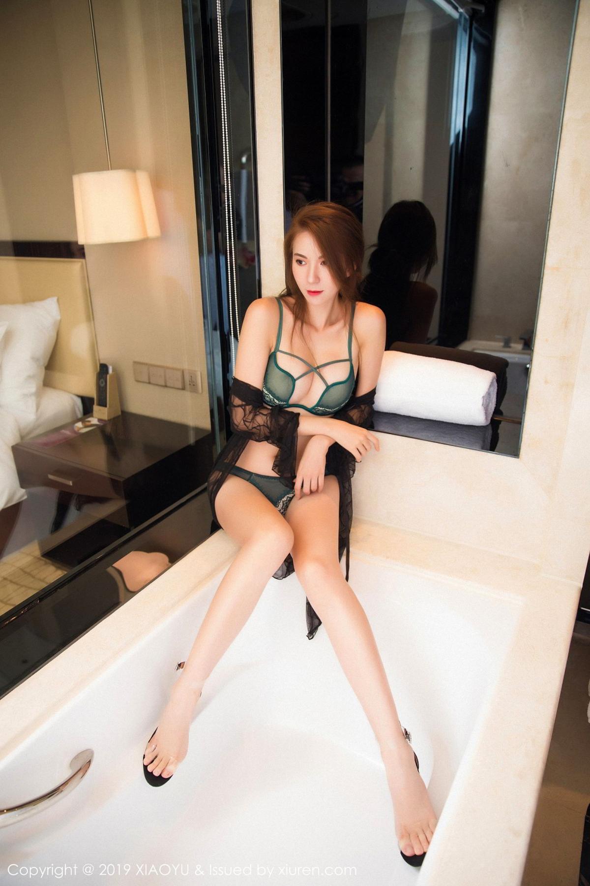 [XiaoYu] Vol.033 Chen Liang Ling 43P, Chen Liang Ling, Tall, Underwear, XiaoYu