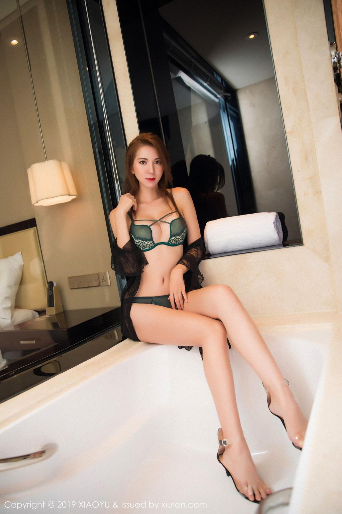 [XiaoYu] Vol.033 Chen Liang Ling 46P, Chen Liang Ling, Tall, Underwear, XiaoYu