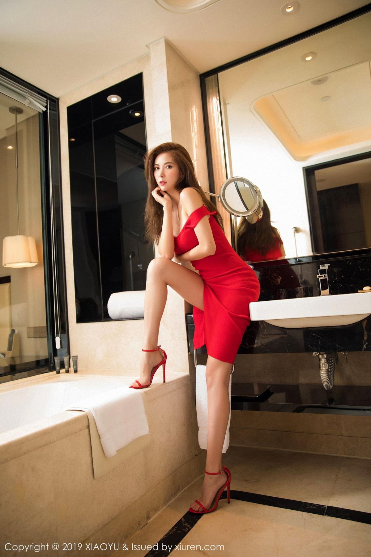 [XiaoYu] Vol.033 Chen Liang Ling 4P, Chen Liang Ling, Tall, Underwear, XiaoYu