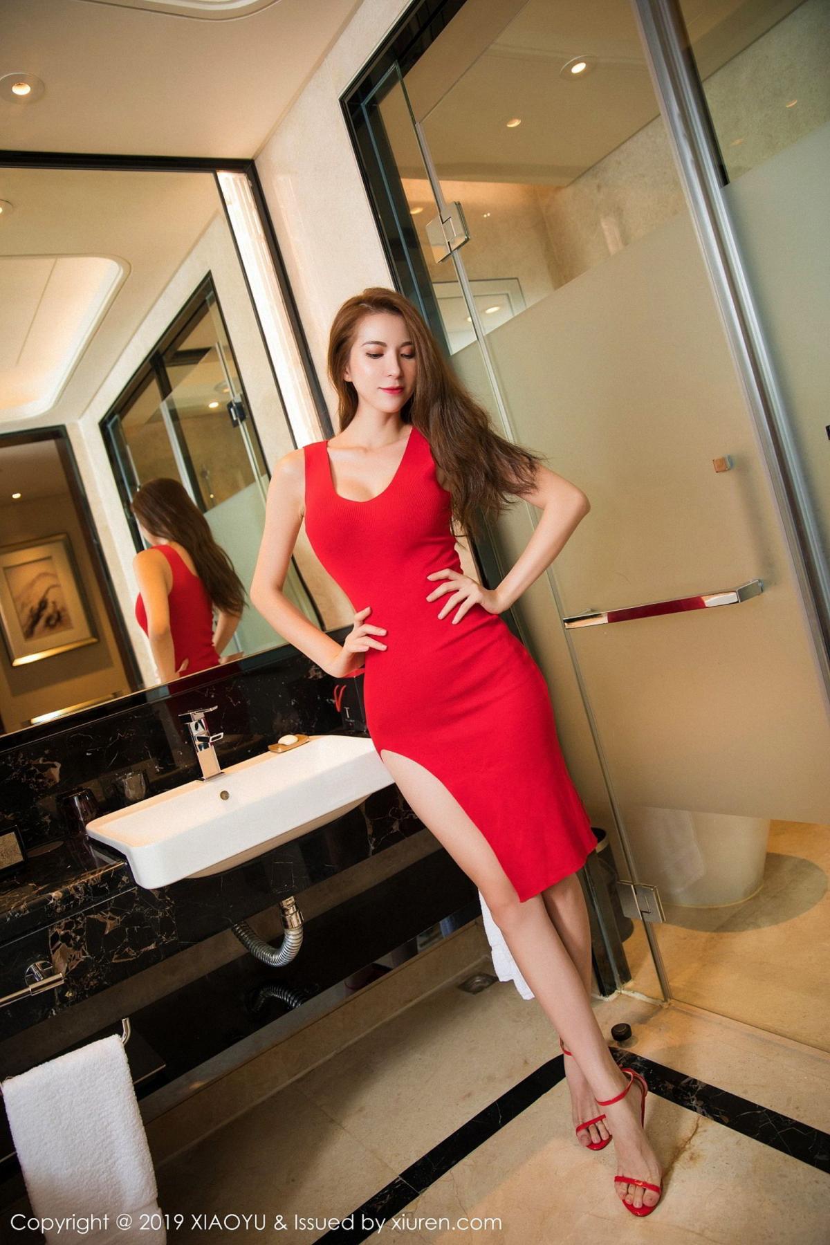 [XiaoYu] Vol.033 Chen Liang Ling 6P, Chen Liang Ling, Tall, Underwear, XiaoYu