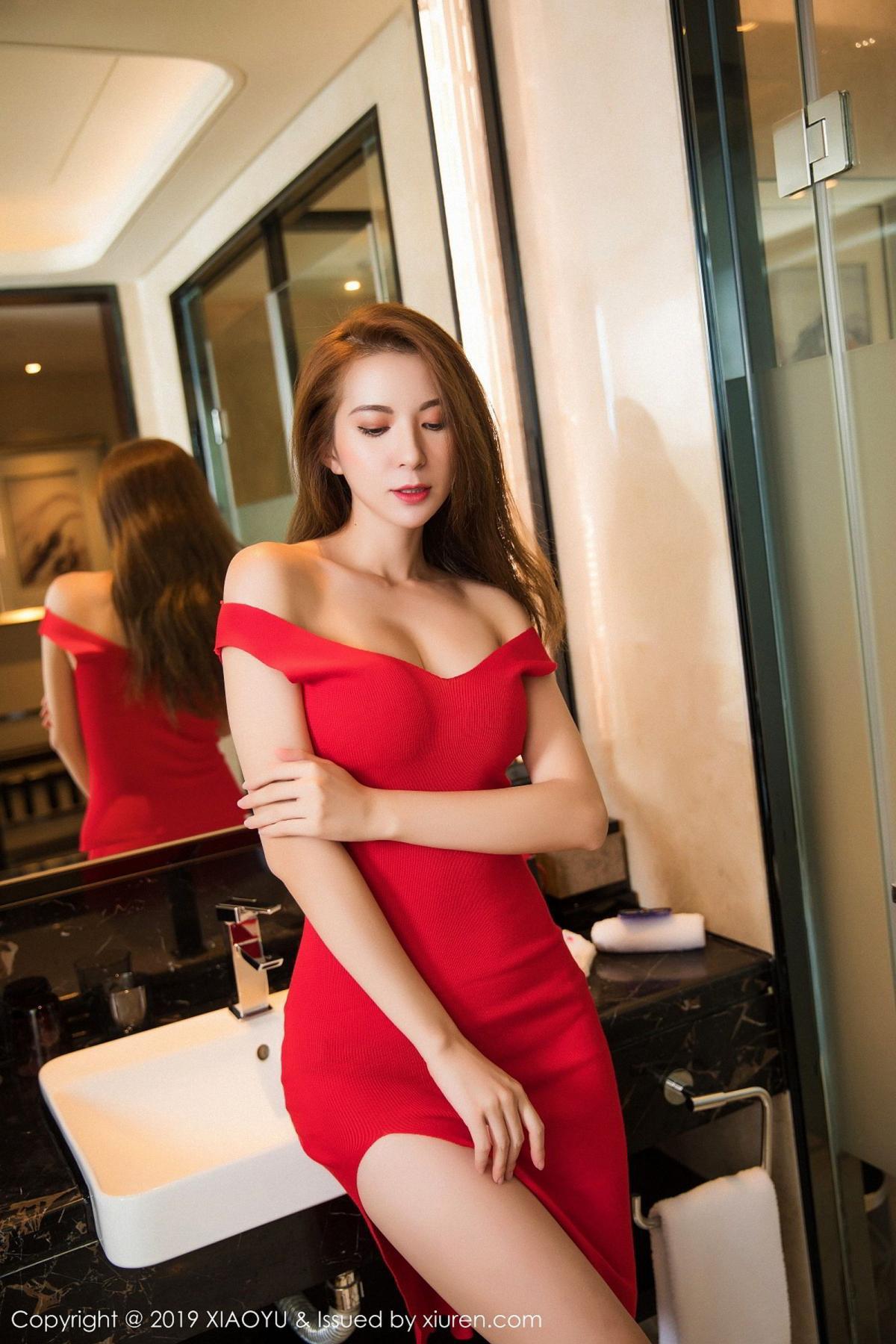 [XiaoYu] Vol.033 Chen Liang Ling 7P, Chen Liang Ling, Tall, Underwear, XiaoYu